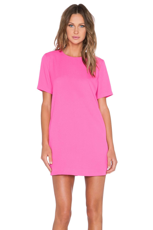 Blaque Label Fuchsia Shift Dress In Pink | Lyst