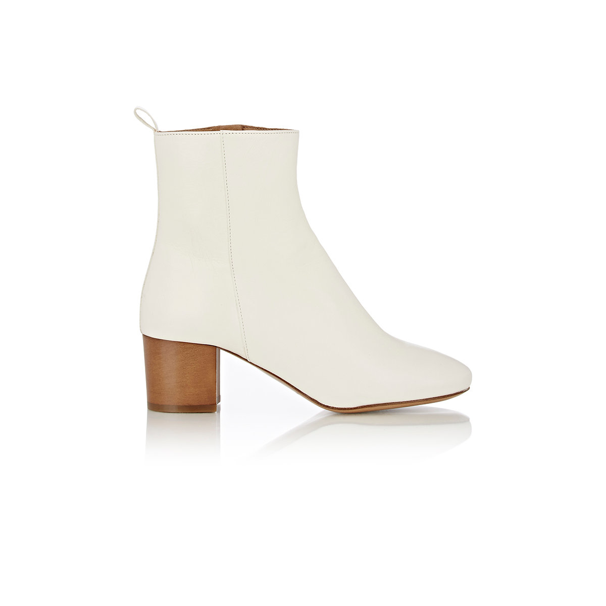 Mens leather gloves sale - 201 Toile Isabel Marant Women S Drew Ankle Boots In White Lyst