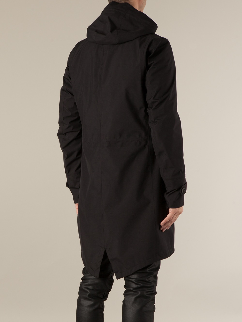 Lyst Herno Fishtail Parka In Black For Men