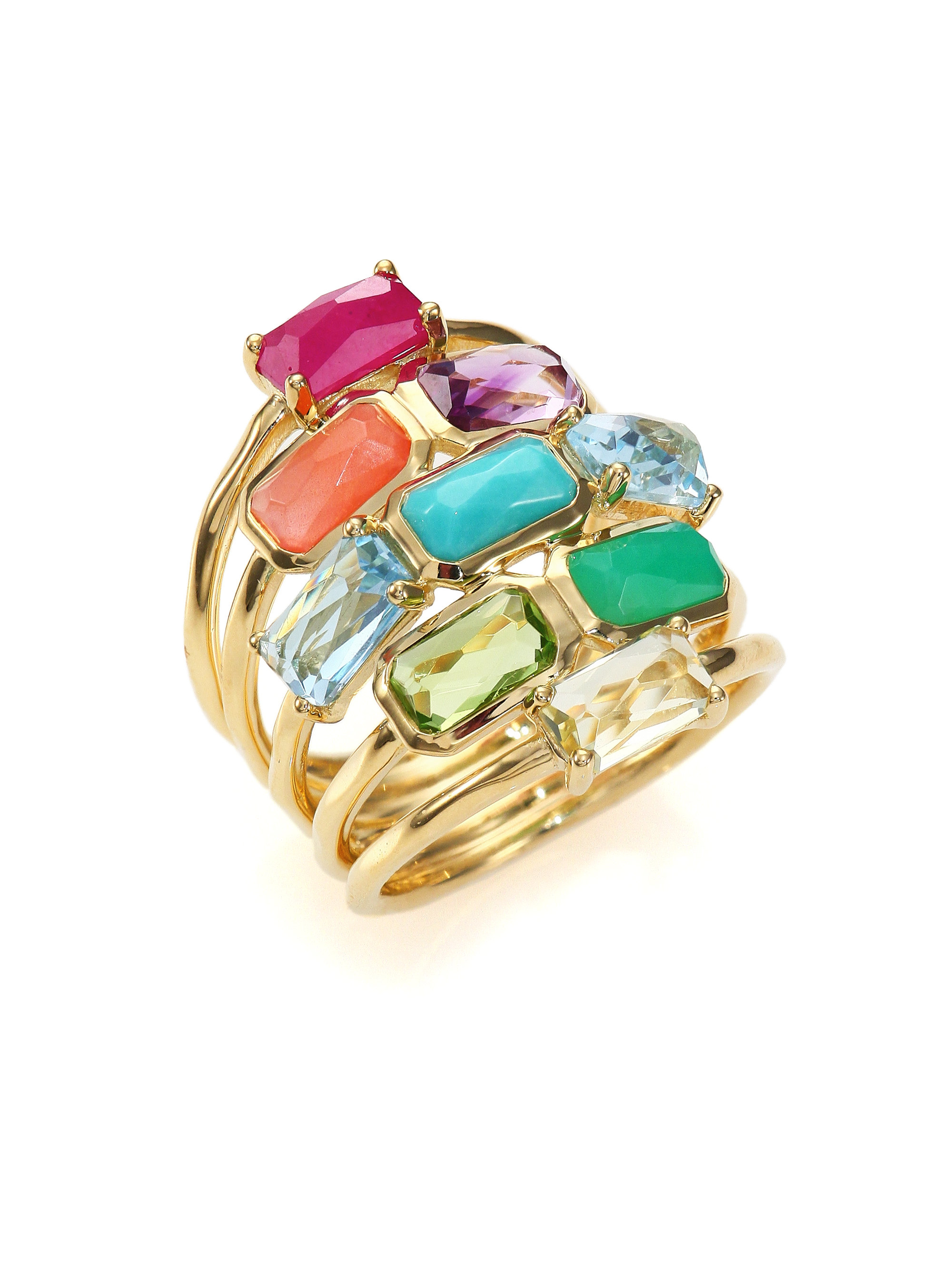 Lyst Ippolita Rock Candy Summer Rainbow Semi Precious