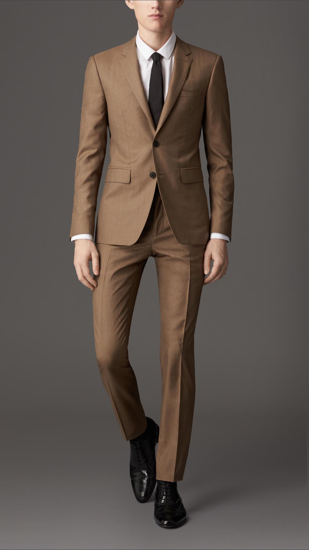 Camel Brown Suit | My Dress Tip