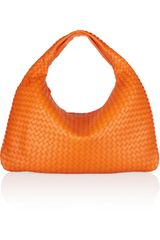 Bottega Veneta Large Veneta Intrecciato Leather Shoulder Bag - Lyst