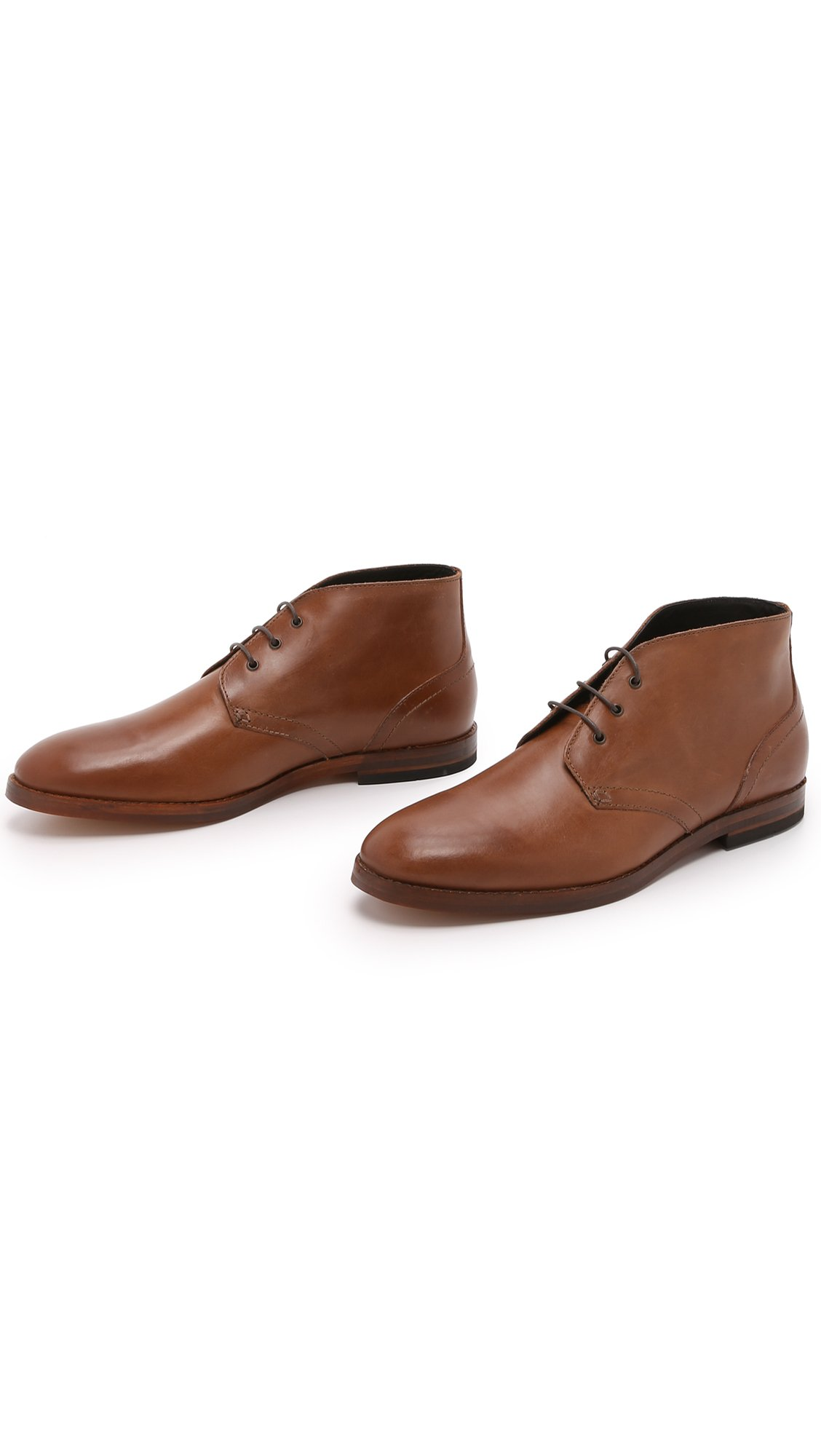 h by hudson houghton 2 leather chukka boots in brown for. Black Bedroom Furniture Sets. Home Design Ideas