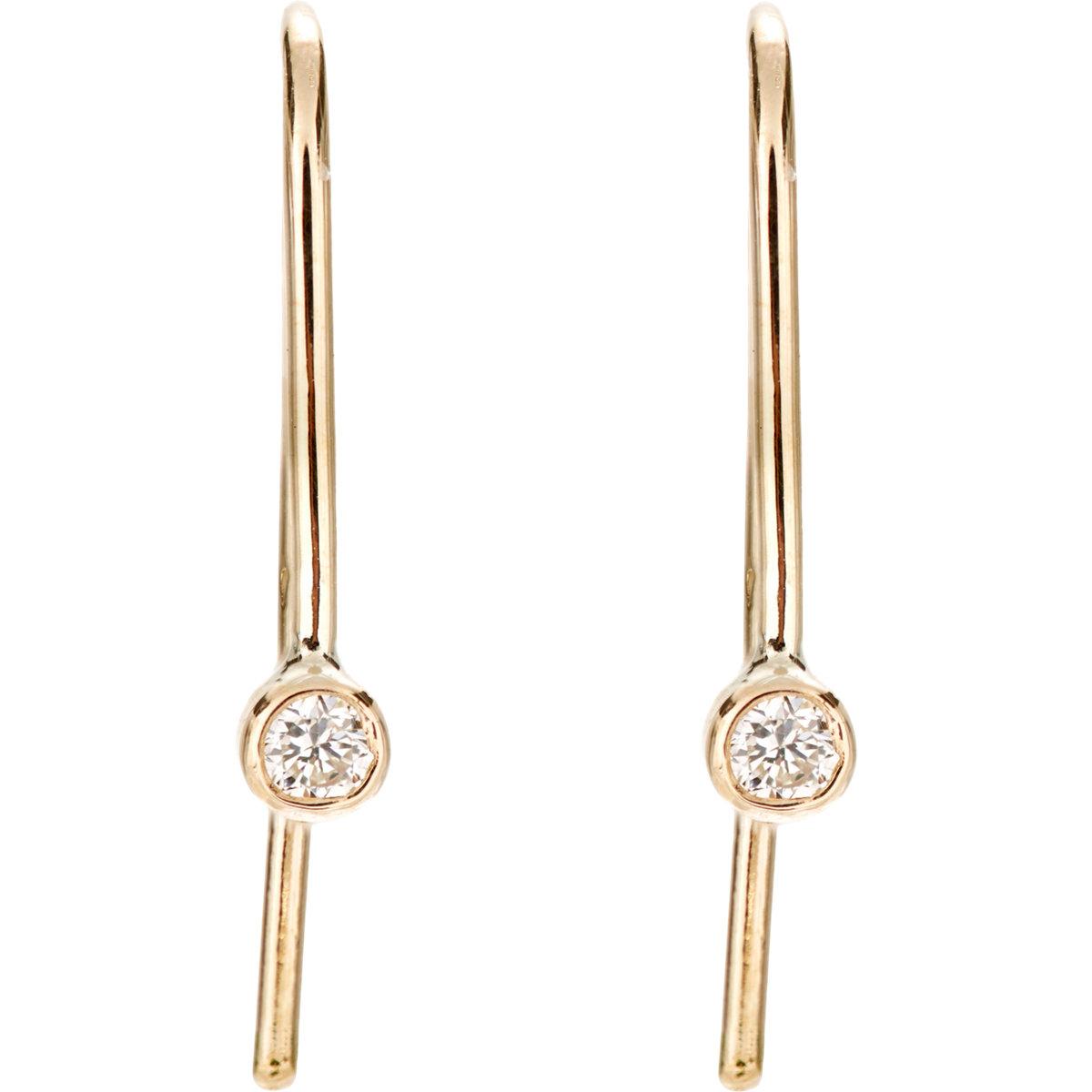Grace Lee Designs 14-karat Gold Pearl Earrings - White 3C1A9NW
