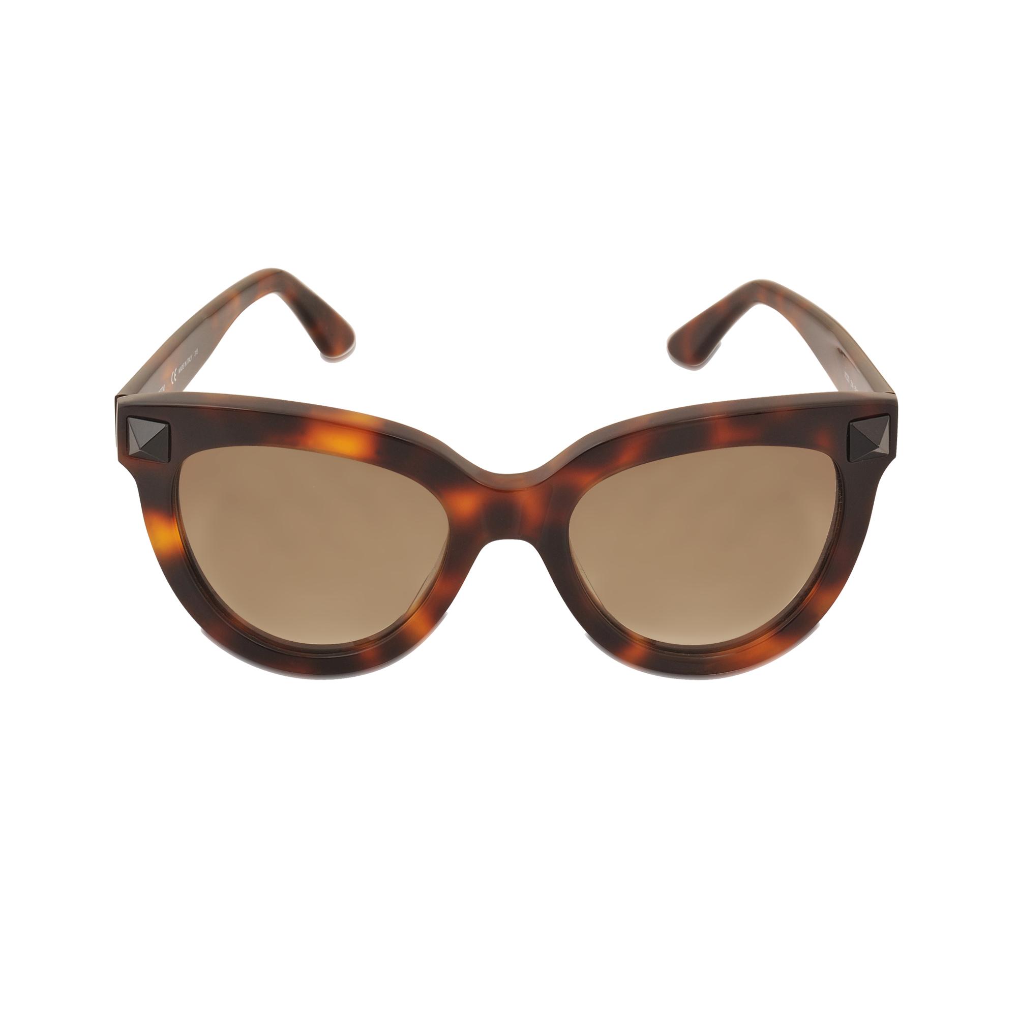 valentino v722s sunglasses in brown lyst