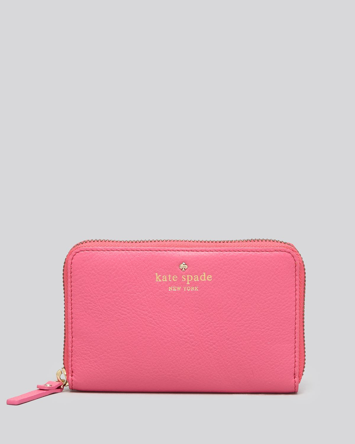 Kate Spade Wallet Cobble Hill Medium Lacey In Pink