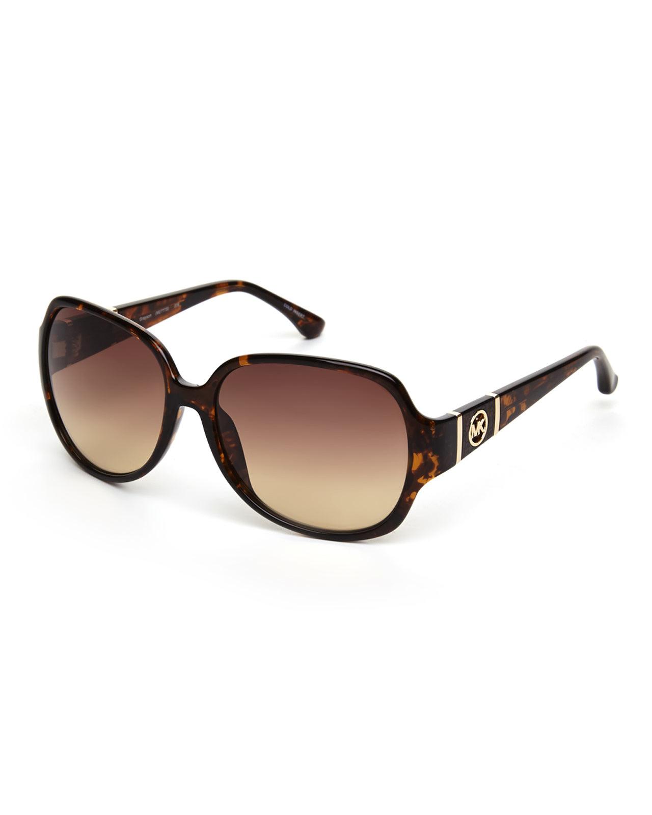 Michael Kors Grayson Sunglasses  michael michael kors tortoises look m2777s grayson xl round