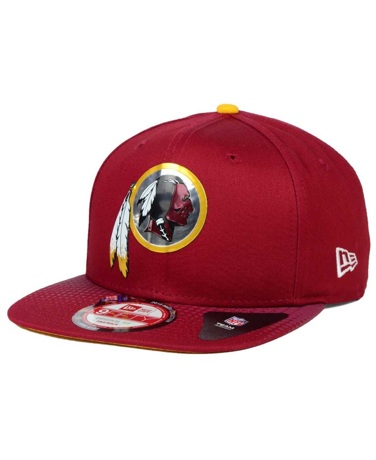 get cheap 77d24 5329e ... new era 9fifty snapback nfl draft day hat 0747d f5470  hot lyst ktz  washington redskins 2015 nfl draft 9fifty snapback cap in 5af36 57ac3