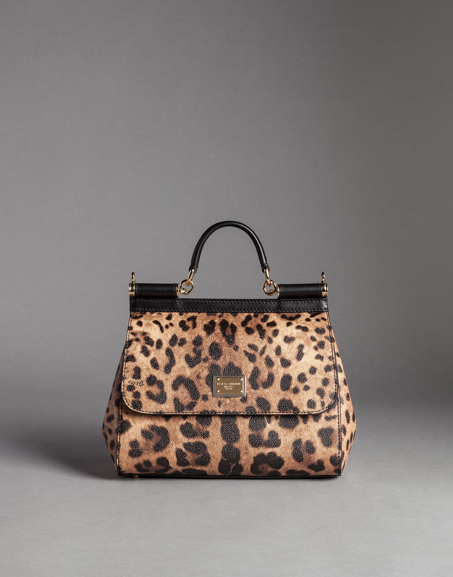 prada tessuto mini leopard-print bucket bag