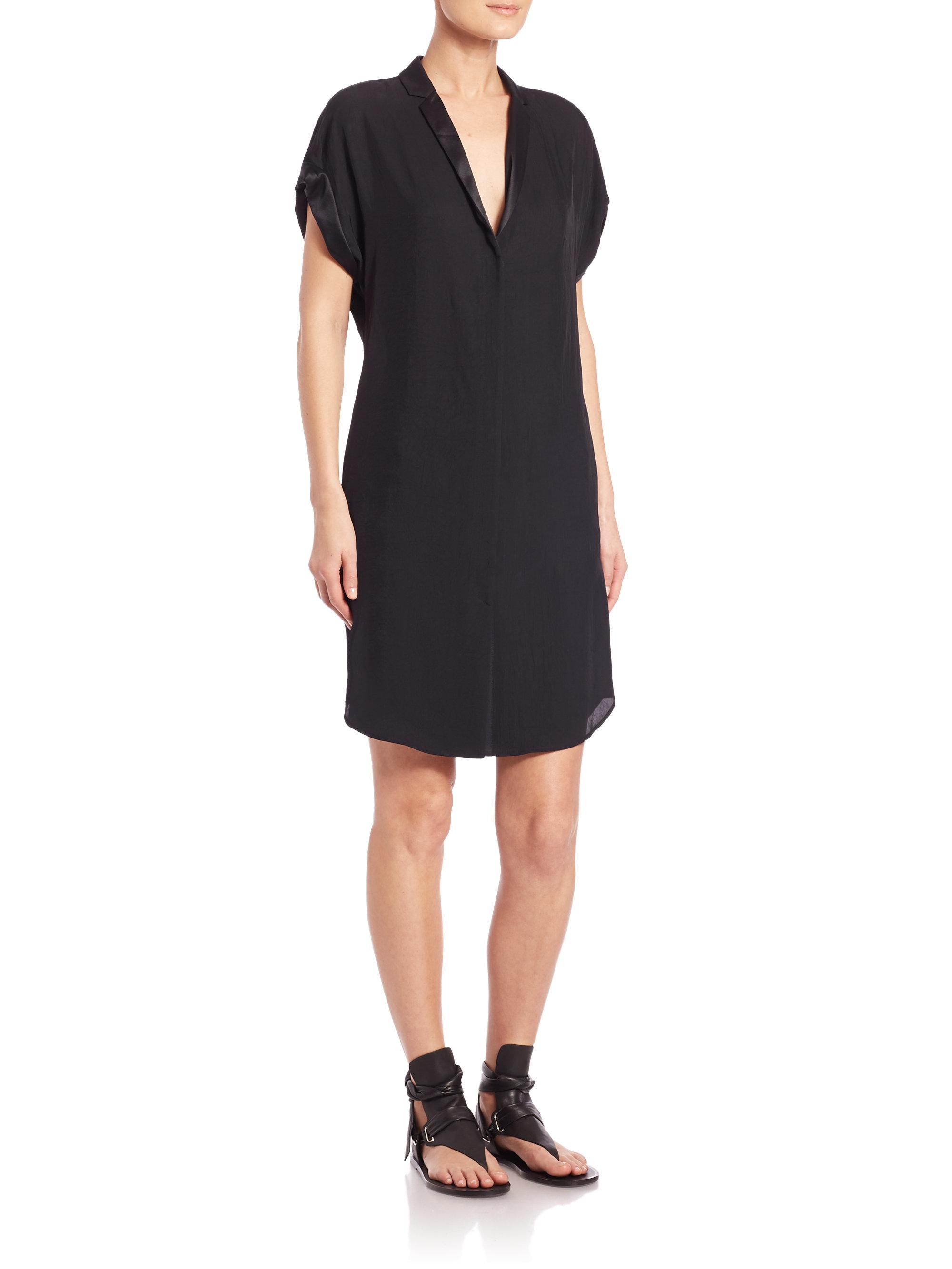 Lyst - Rag U0026 Bone Cooper Dress In Black