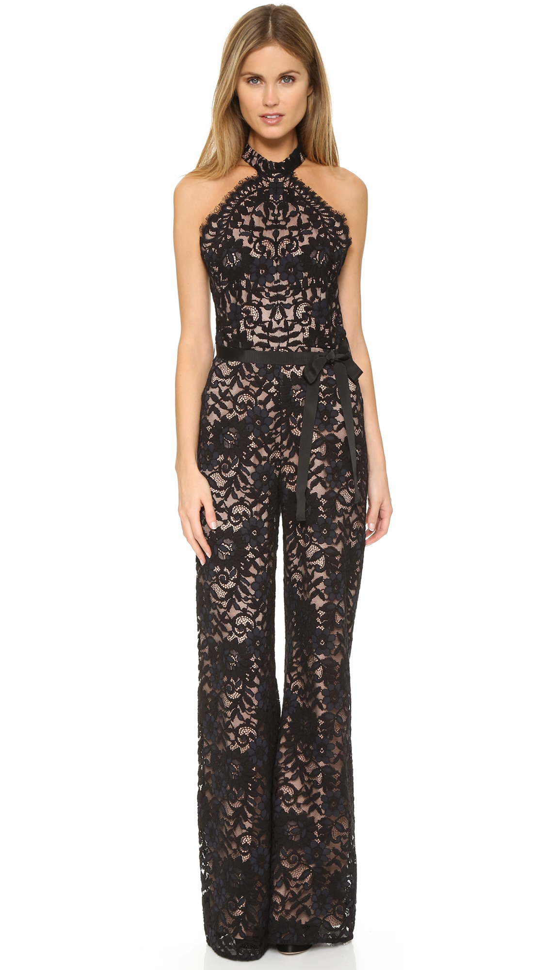 a4be67bcded Alexis rene jumpsuit black lace in black lyst jpg 1128x2000 Alexis jumpsuit  lace