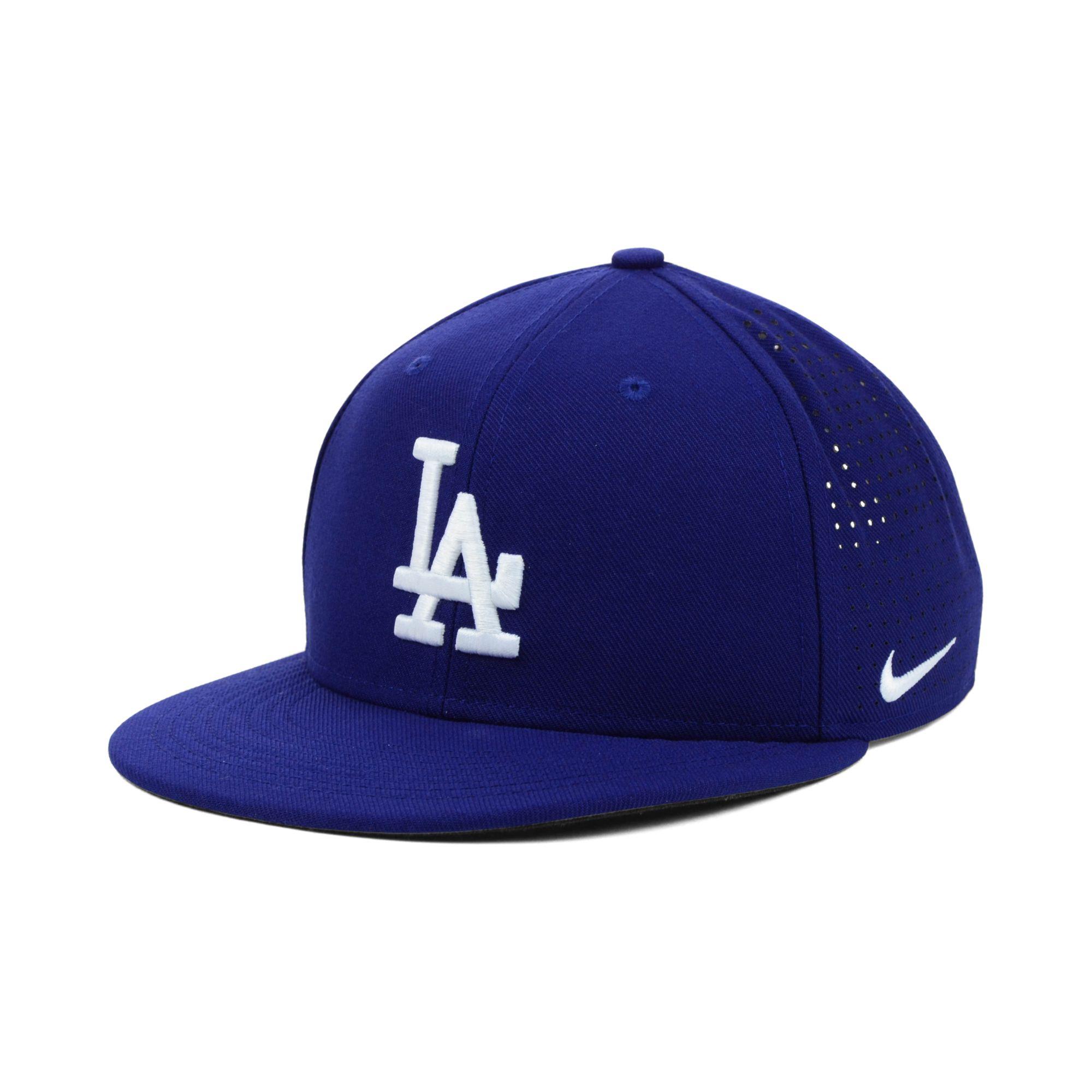 Lyst - Nike Los Angeles Dodgers Drifit Vapor Adjustable Cap in Blue ... 70678263af6