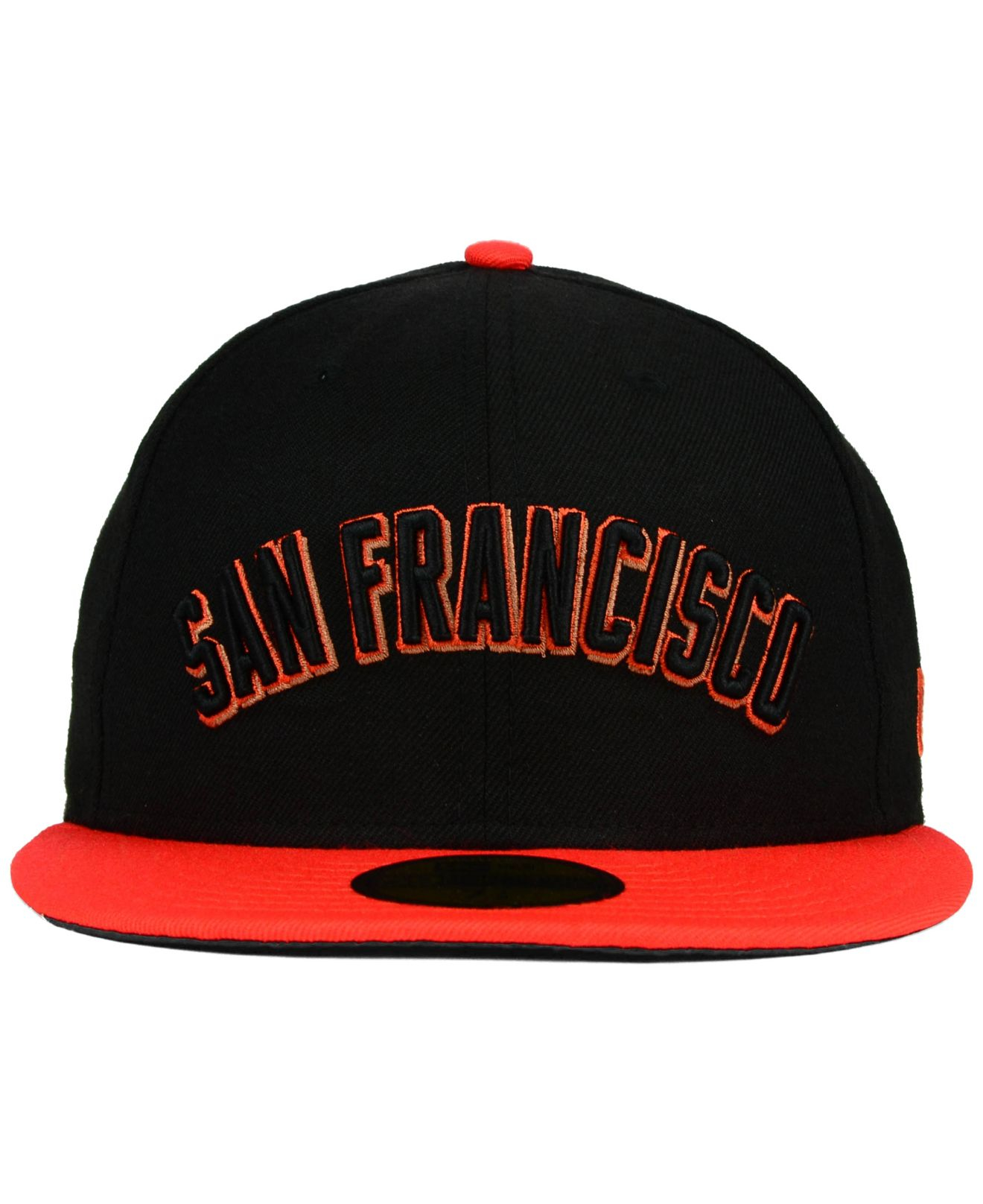 8fec8c78d8e Lyst - KTZ San Francisco Giants Under City 59fifty Cap in Black for Men
