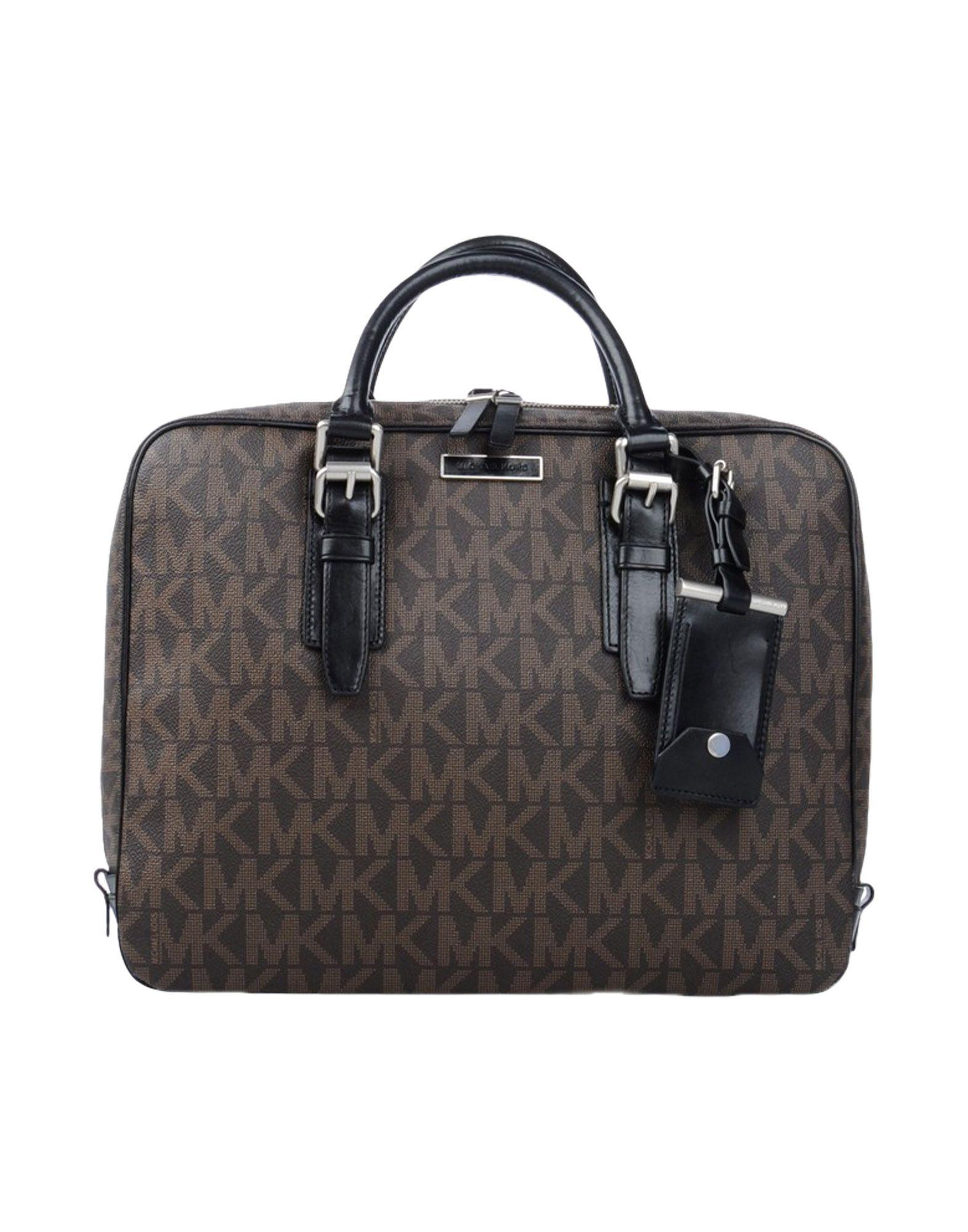 michael kors handbag in brown dark brown lyst. Black Bedroom Furniture Sets. Home Design Ideas