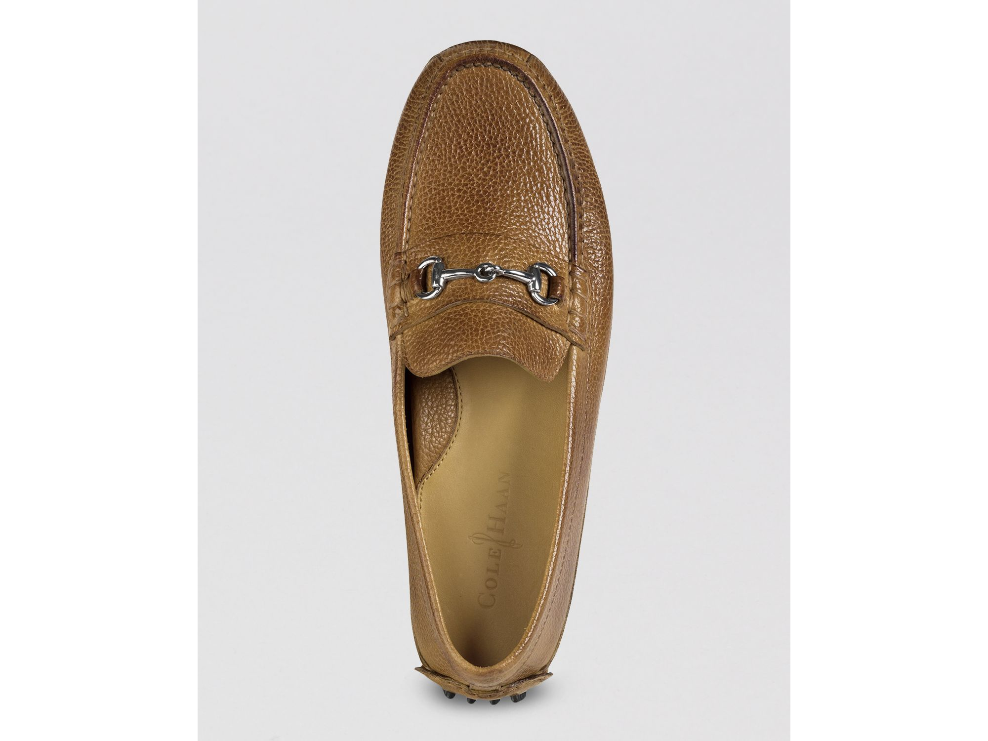 4a9ff72ae Lyst - Cole Haan Grant Canoe Bit Driving Loafers in Brown for Men