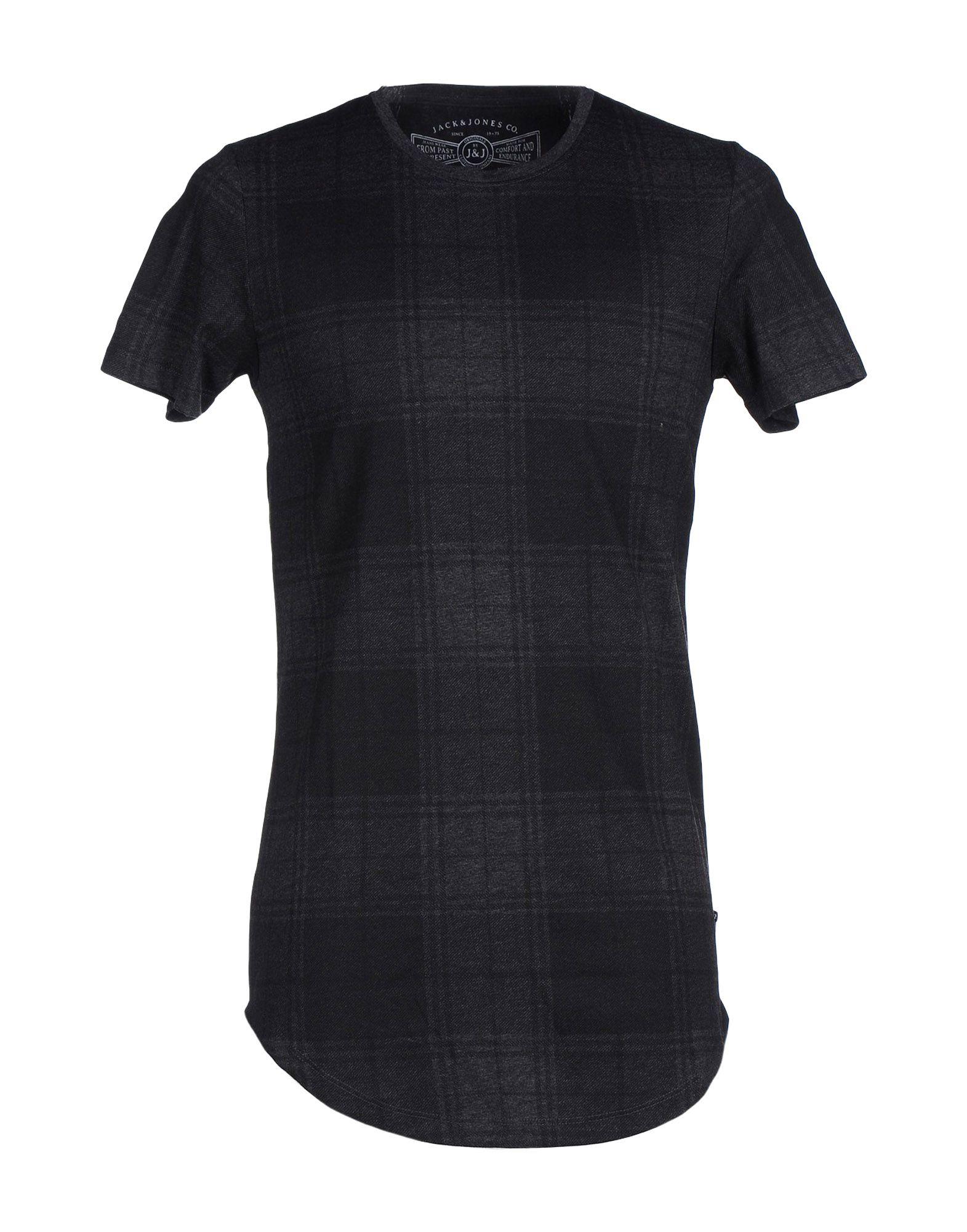 lyst originals by jack jones t shirt in gray for men. Black Bedroom Furniture Sets. Home Design Ideas