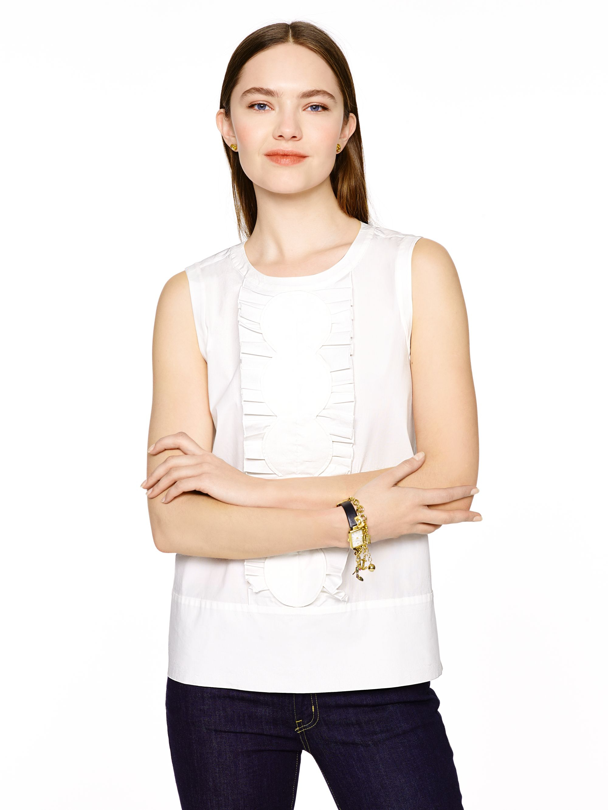 Kate Spade New York Sleeveless Knit Top Buy Cheap Fashionable Best Prices Sale Online Free Shipping Excellent Hyper Online Discount Authentic Online 7NbMJ