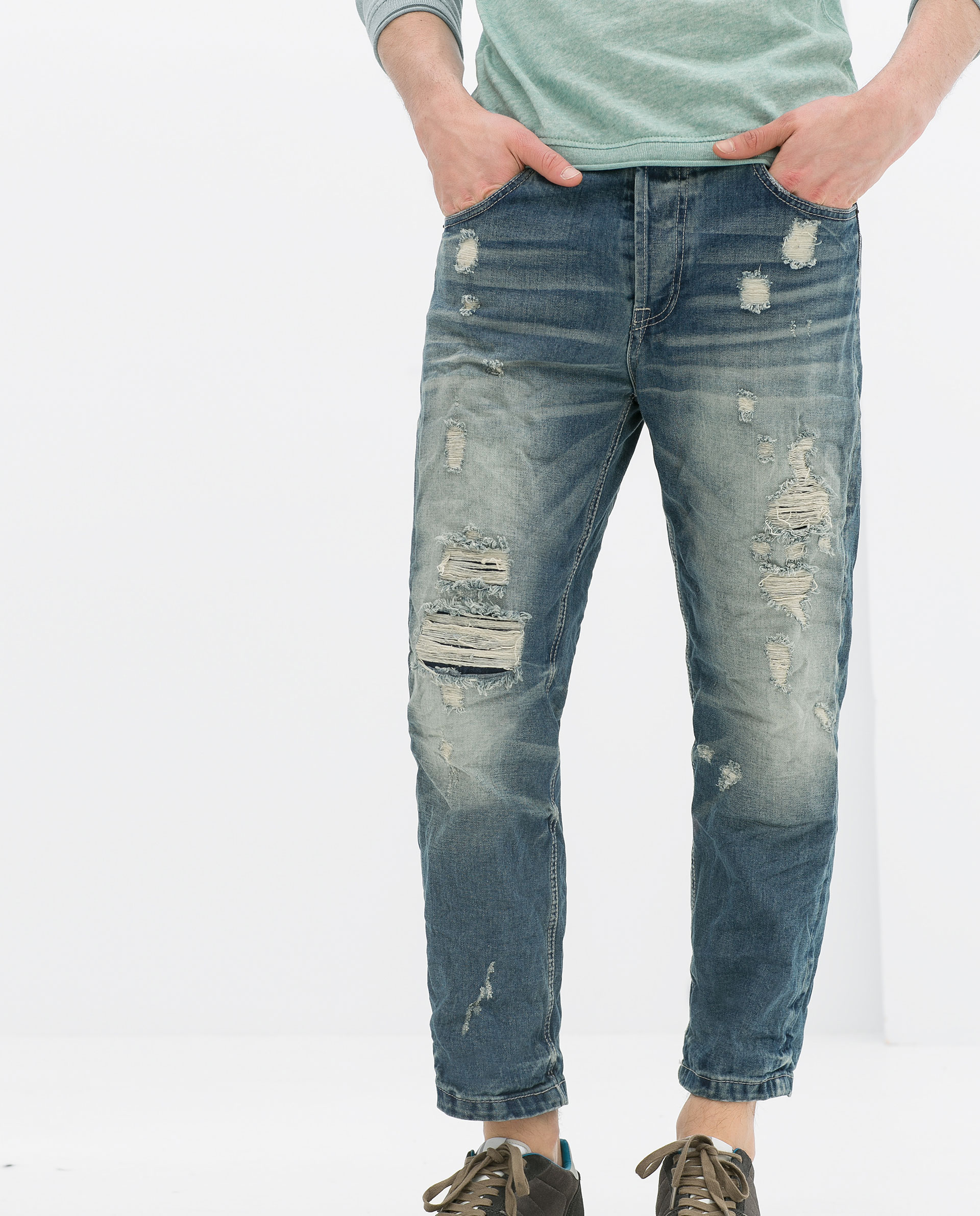 Mens Ripped Jeans For Sale