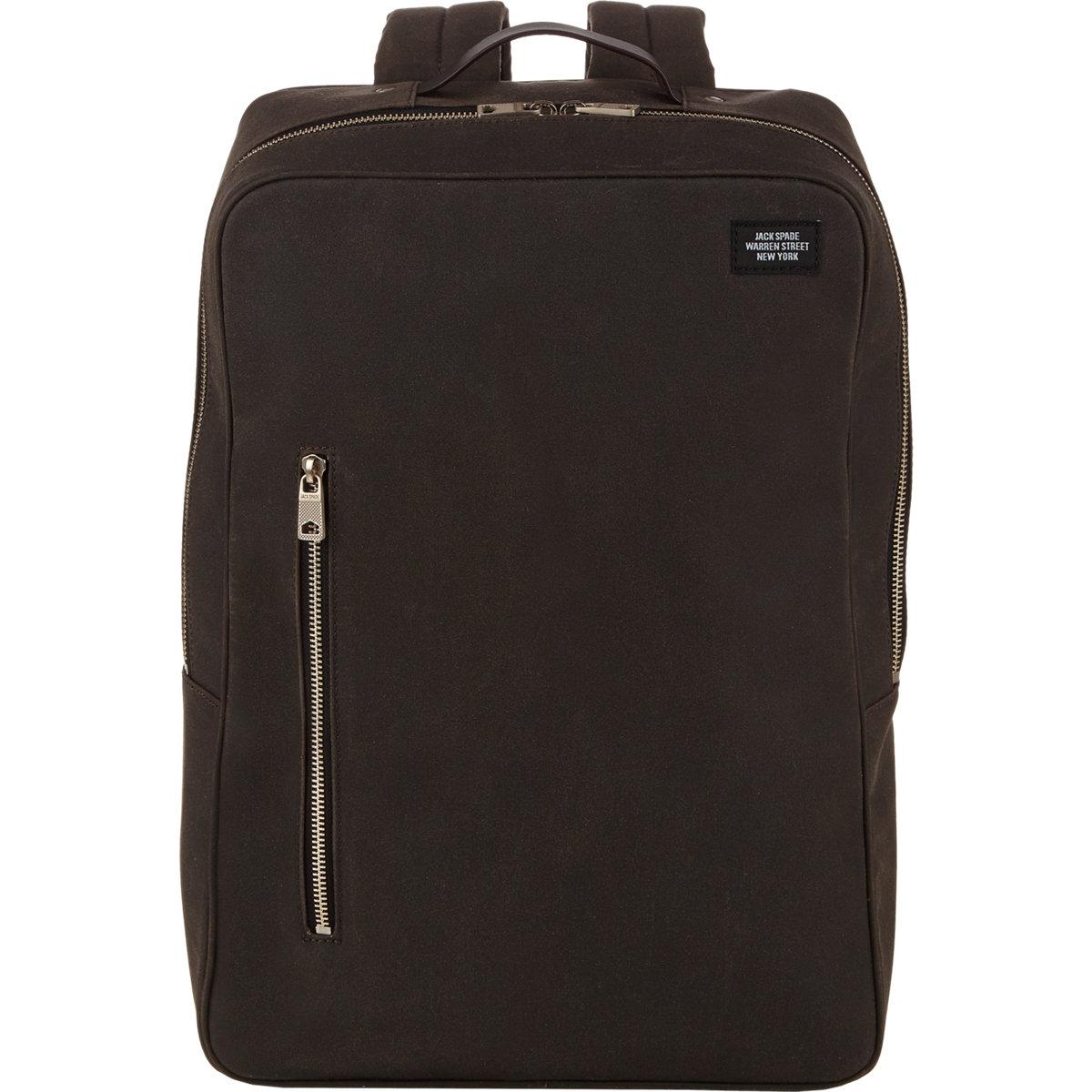 Lyst Jack Spade Stanton Backpack In Brown For Men
