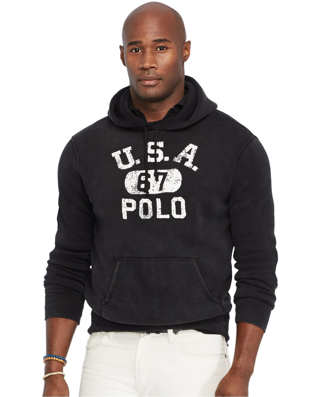 Lyst Polo Ralph Lauren Big And Tall Fleece Hoodie In