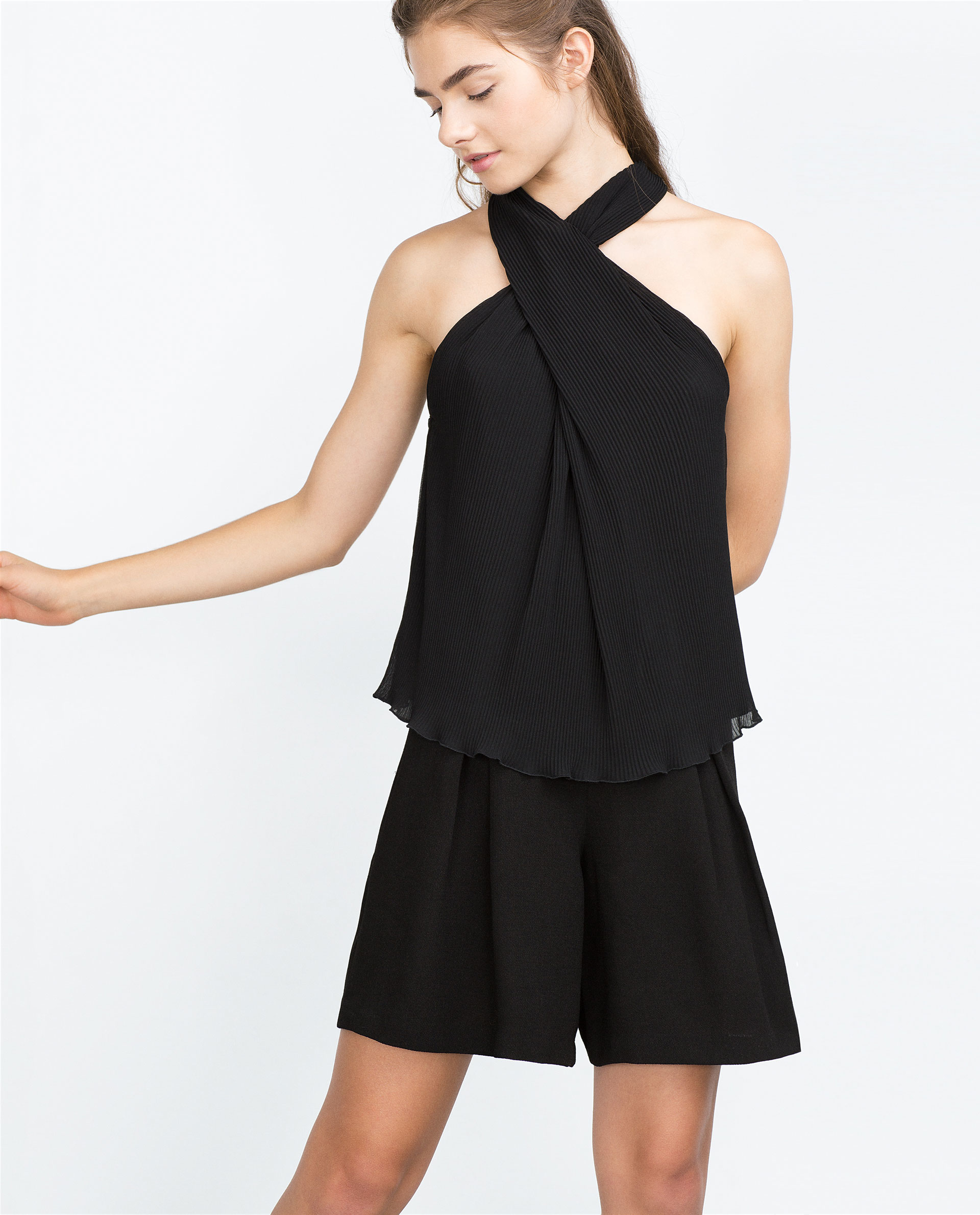 Buy the latest black halter neck top cheap shop fashion style with free shipping, and check out our daily updated new arrival black halter neck top at seebot.ga