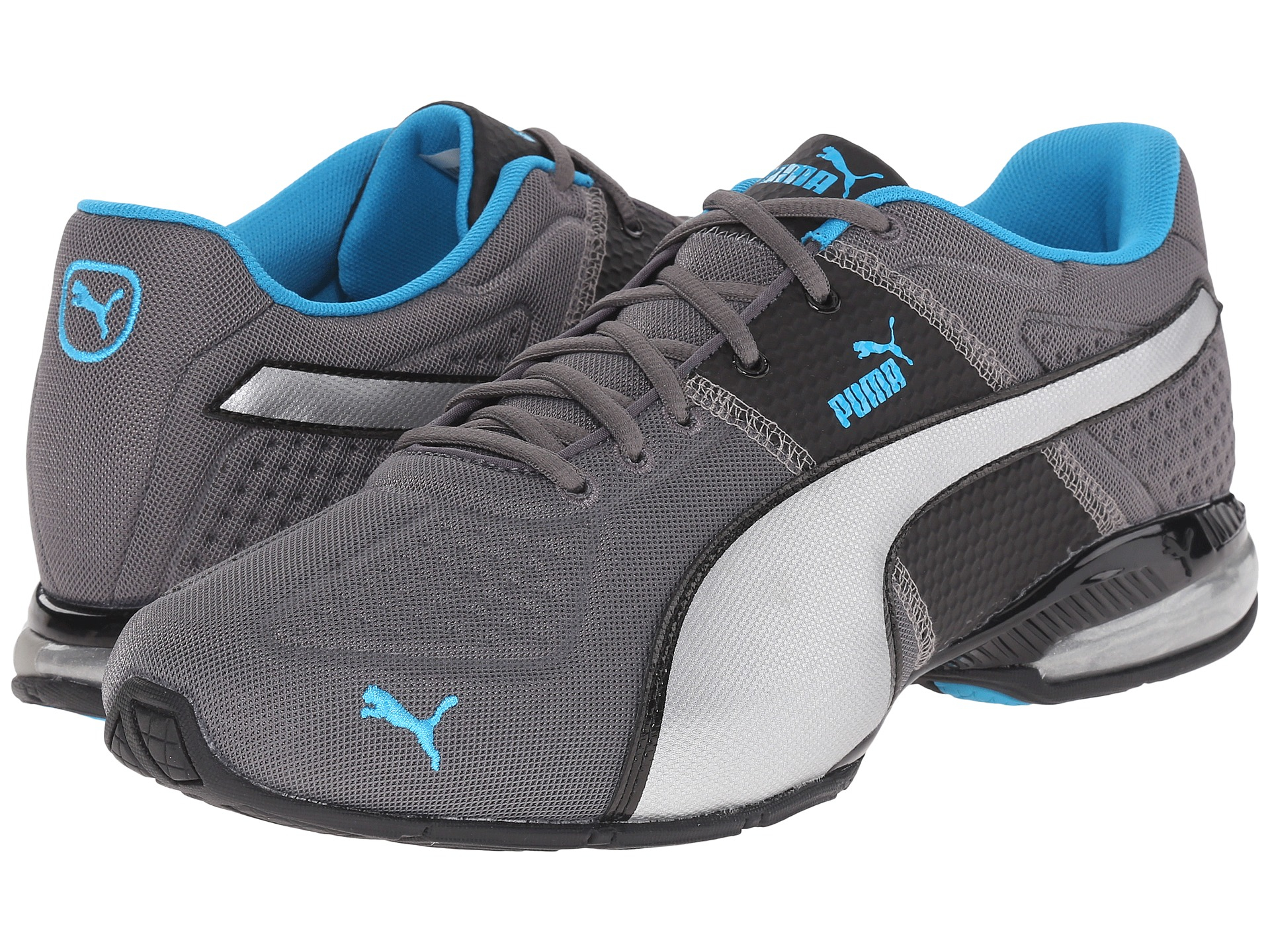 1e9a3cd85adc ... good lyst puma cell surin deboss in gray for men 73d78 137f6