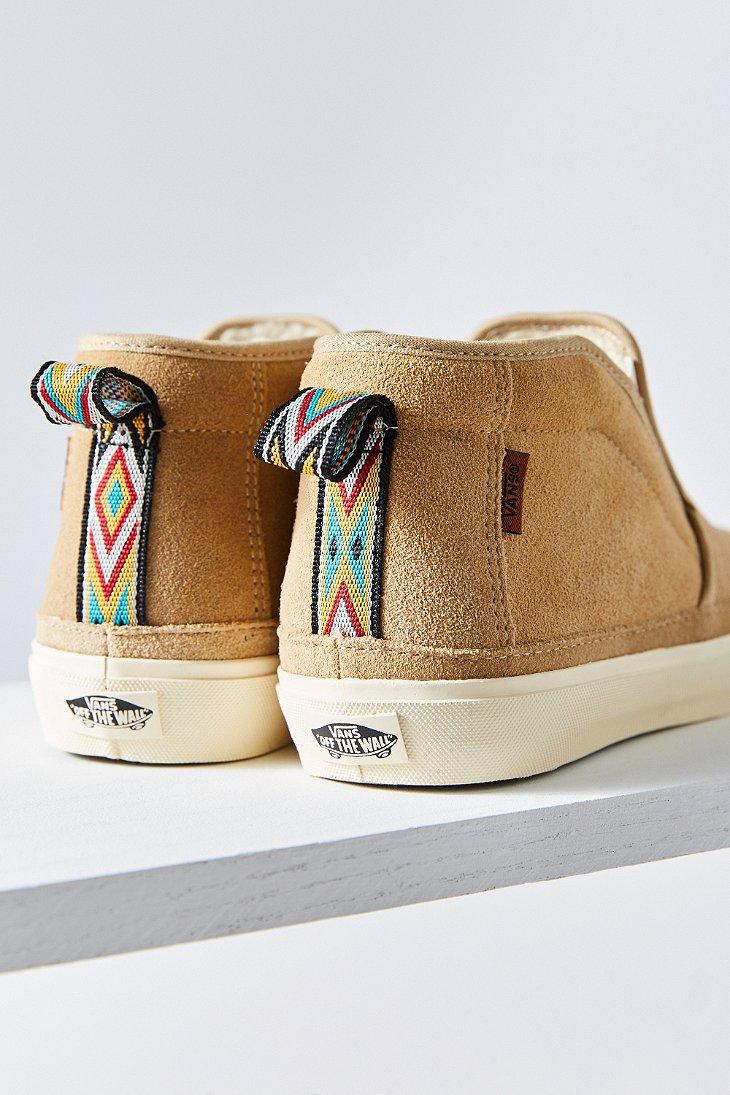 62c1f3752edde9 Lyst - Vans Surf Mid Slip Sf Sneaker in Natural