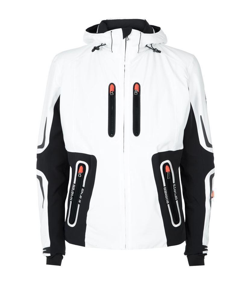 Bogner Ski Jacket Sean In White For Men Lyst