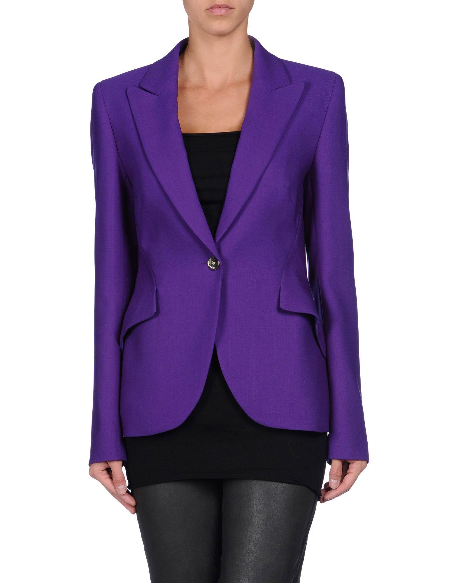 Escada Blazer in Purple | Lyst