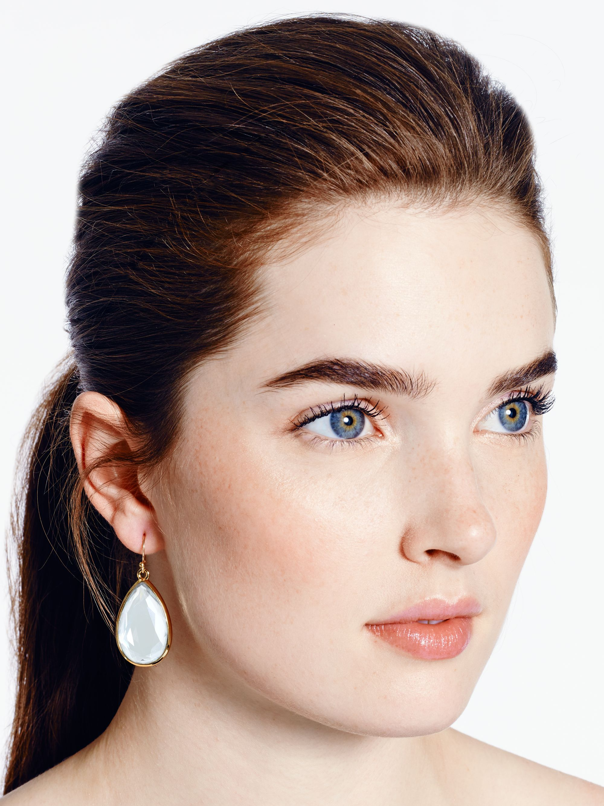product spade kate jet idea earrings drop modesens bright new york
