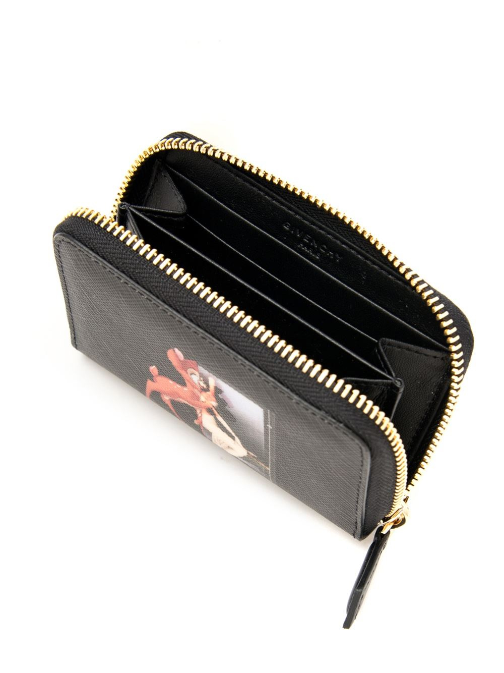 cca34807ef Givenchy Mini Bambi Wallet in Black - Lyst