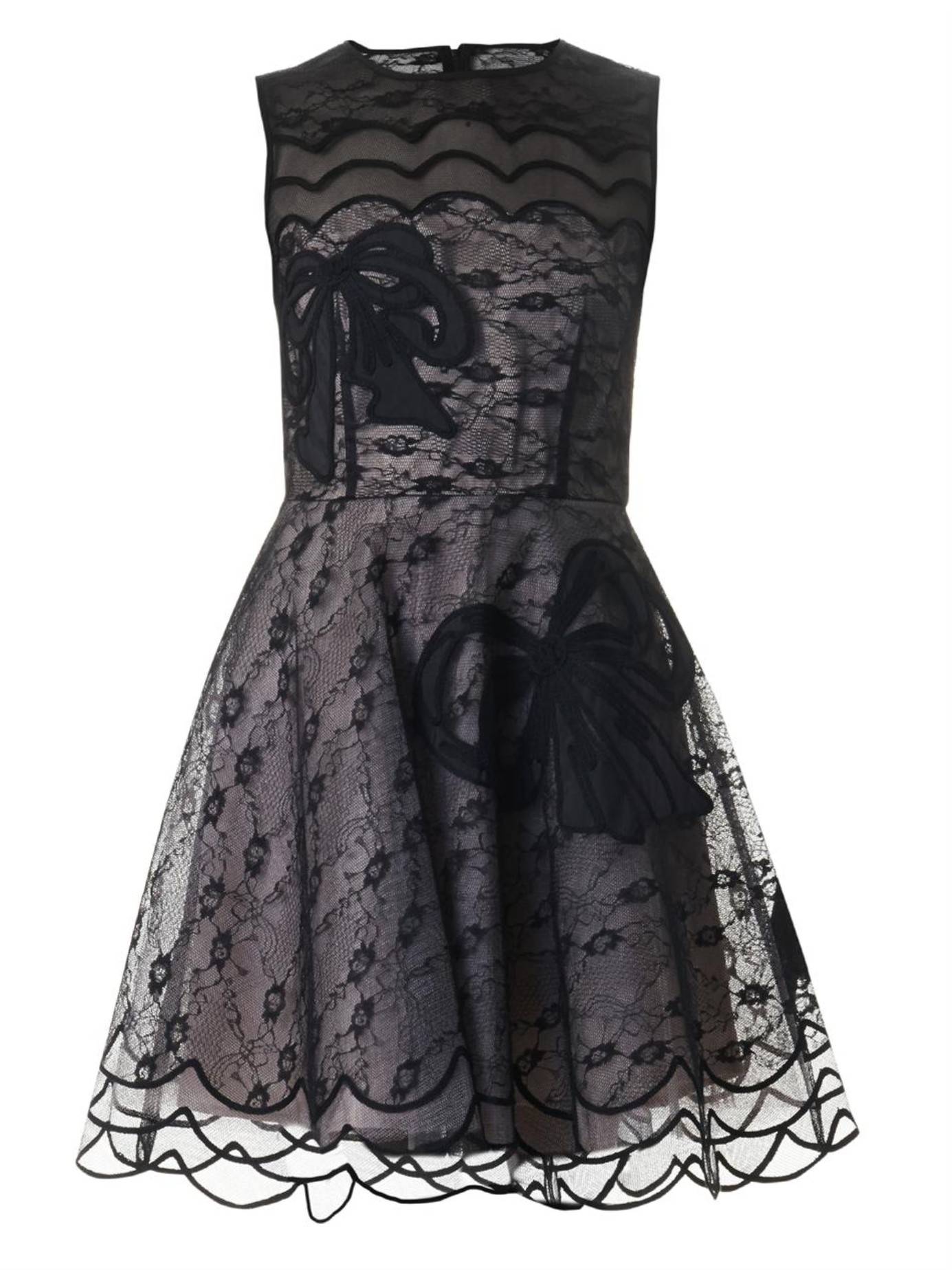 65ba07f2efb Valentino Lace Dress Bow