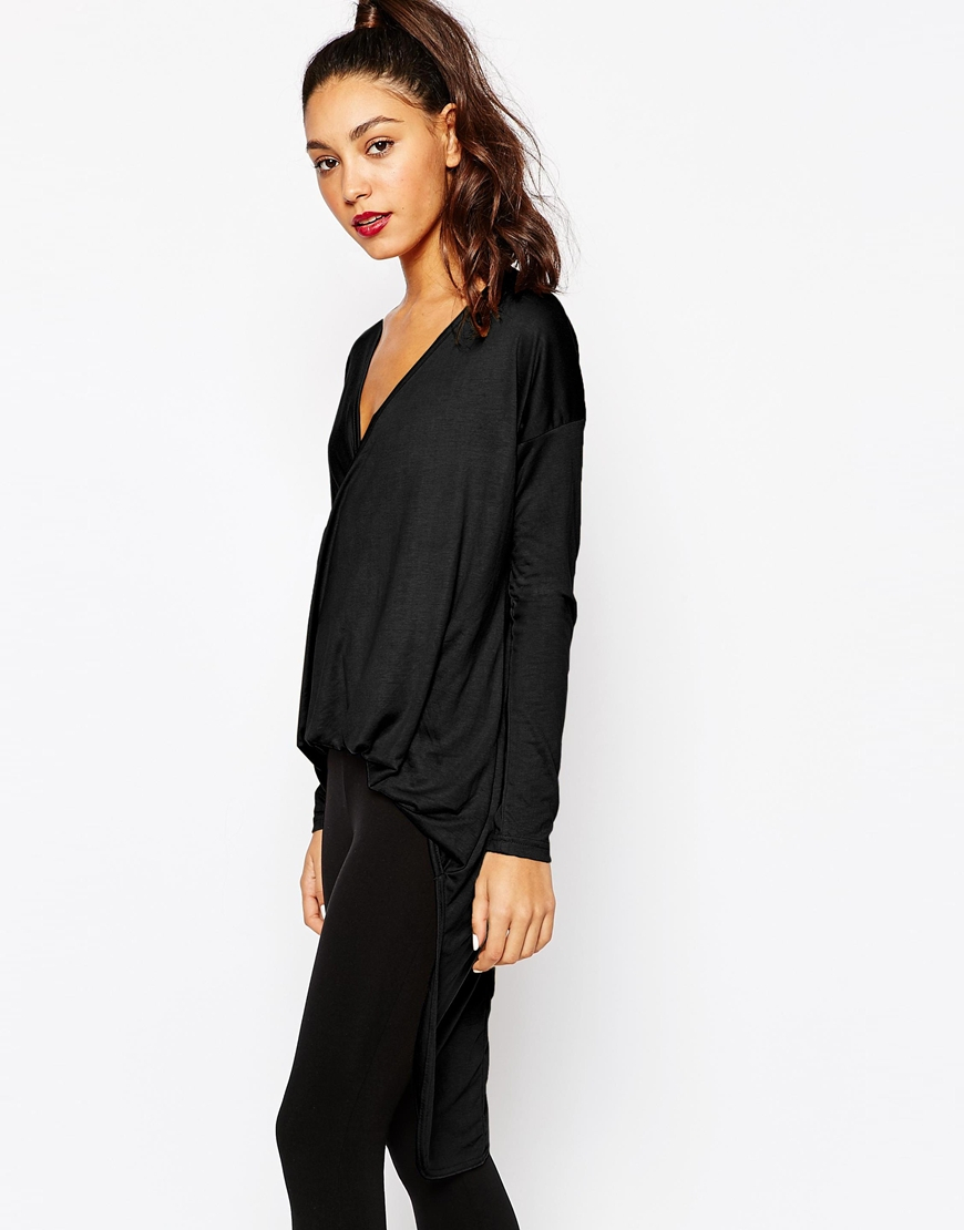 back drape drapes com long products vblk chaserbrand top front silk sleeve