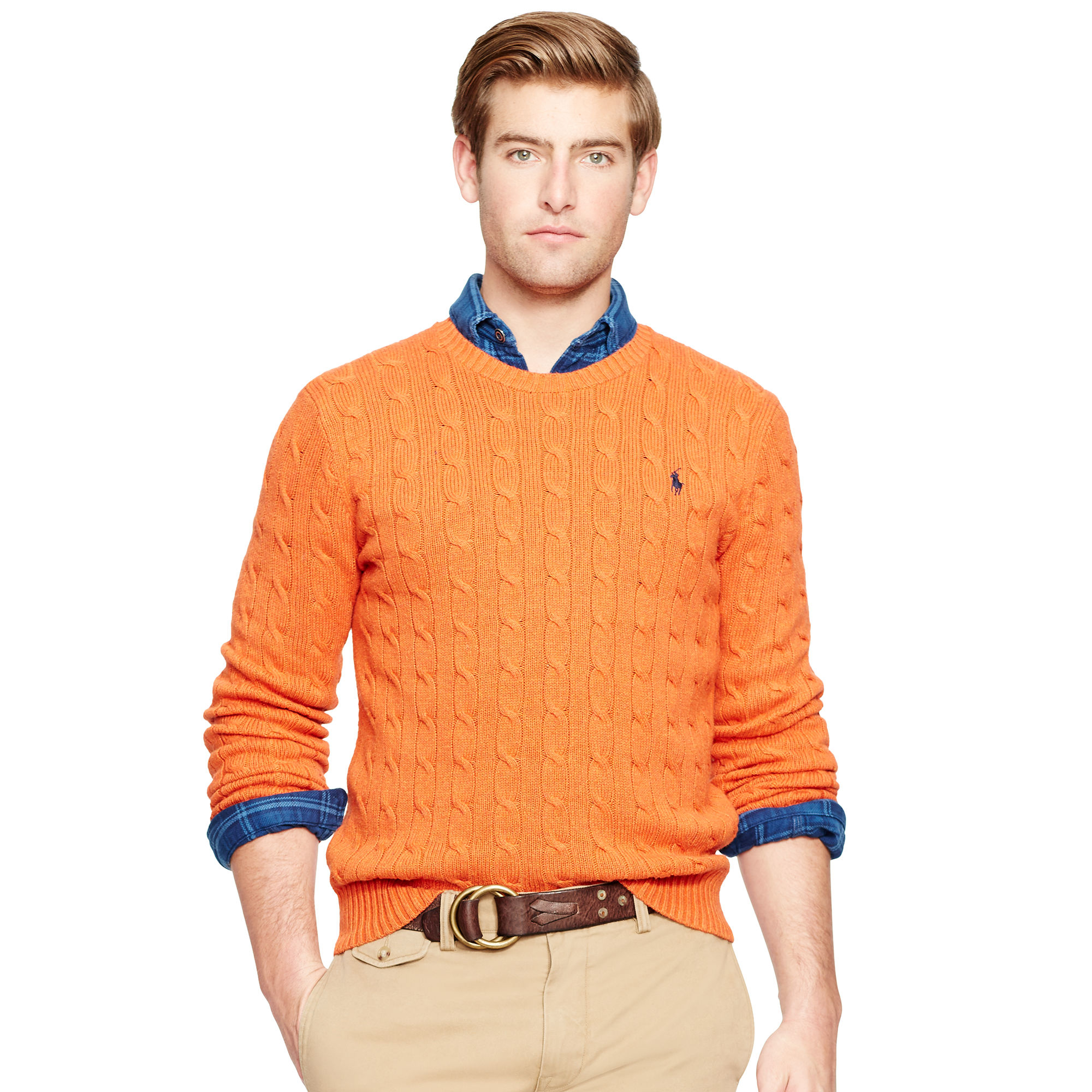 Gallery. Men's Roll Neck Sweaters ...