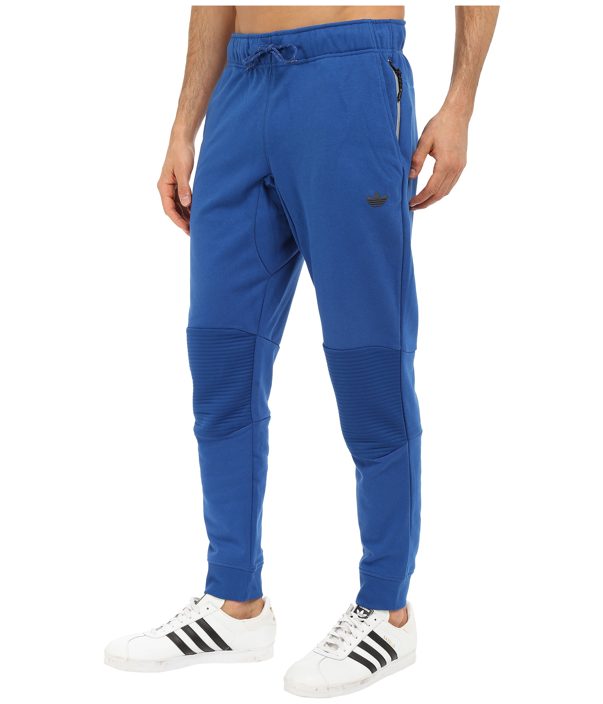 f28bd05f9 adidas Originals Sport Luxe Moto Jogger Pants in Blue for Men - Lyst