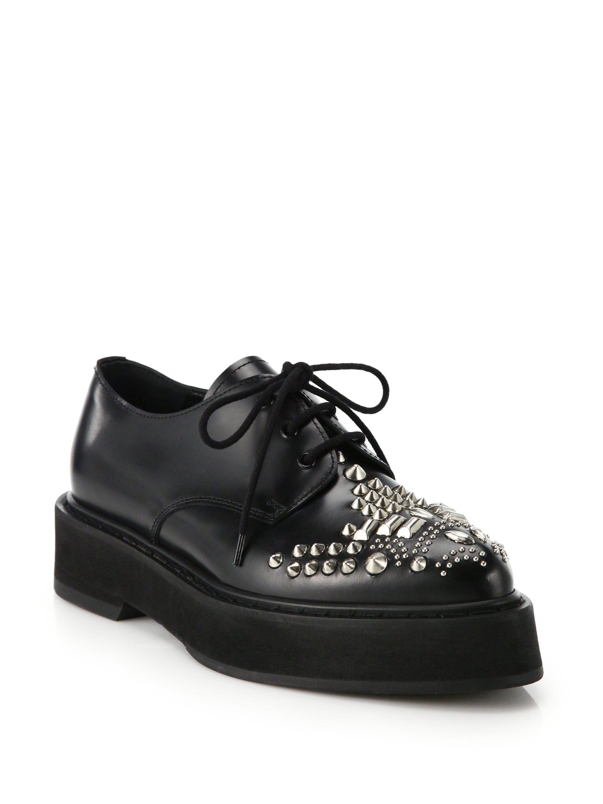 cheap price low shipping fee Alexander McQueen Studded Leather Oxfords from china low shipping fee free shipping sale online cheap enjoy 6J0w3DYT