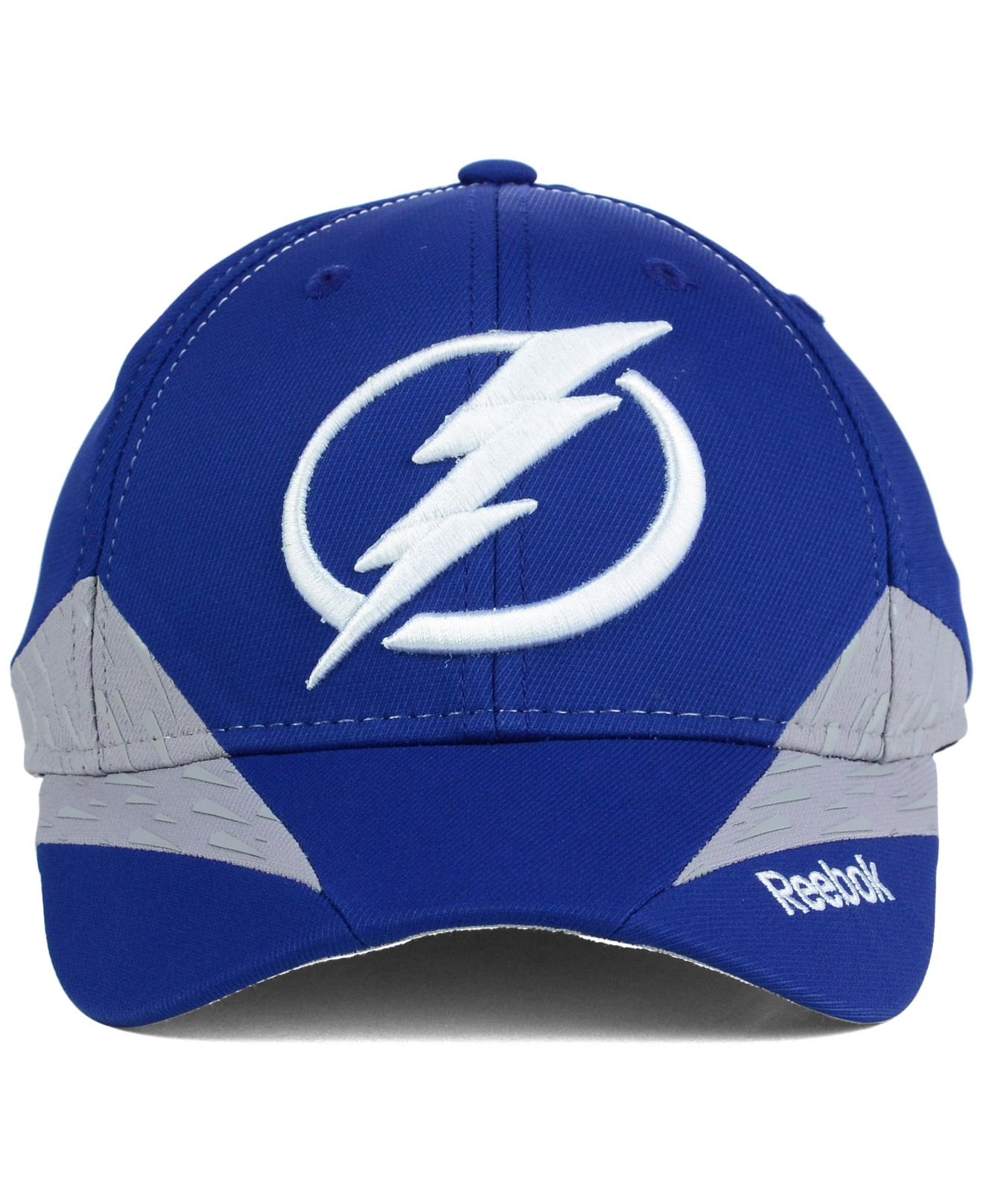 a38d6000aa4 Lyst - Reebok Tampa Bay Lightning Practice Flex Cap in Blue for Men