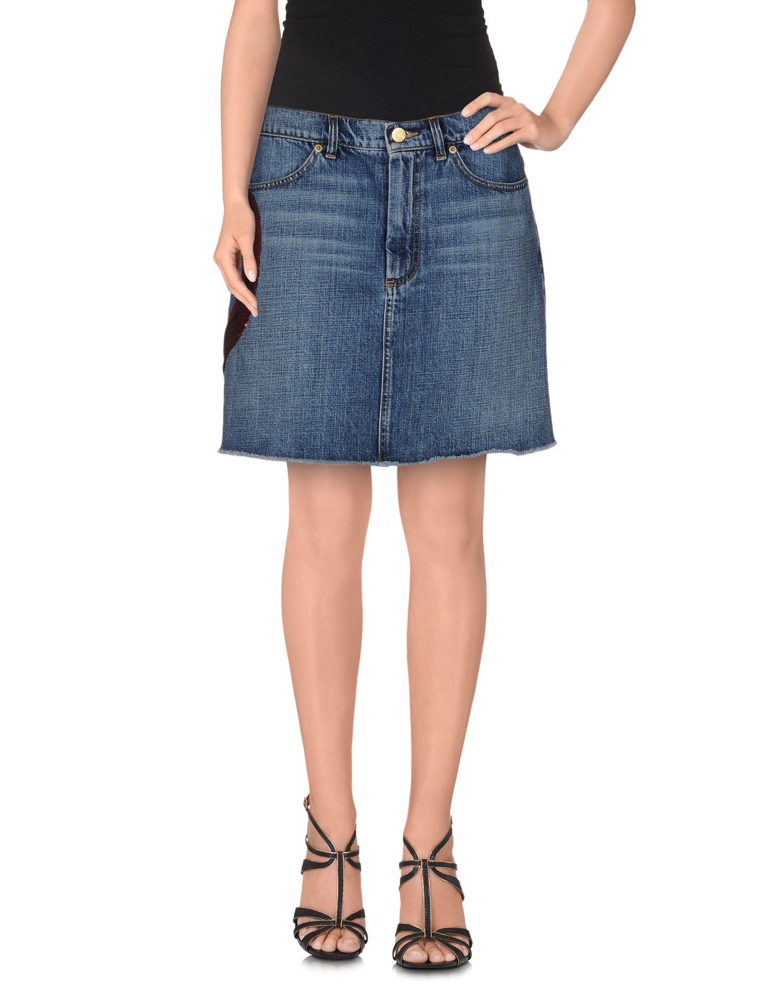 Excellent Women PUuHsQ5b  Marc Jacobs  Blue Denim Skirt  Wwwtimeformusicco