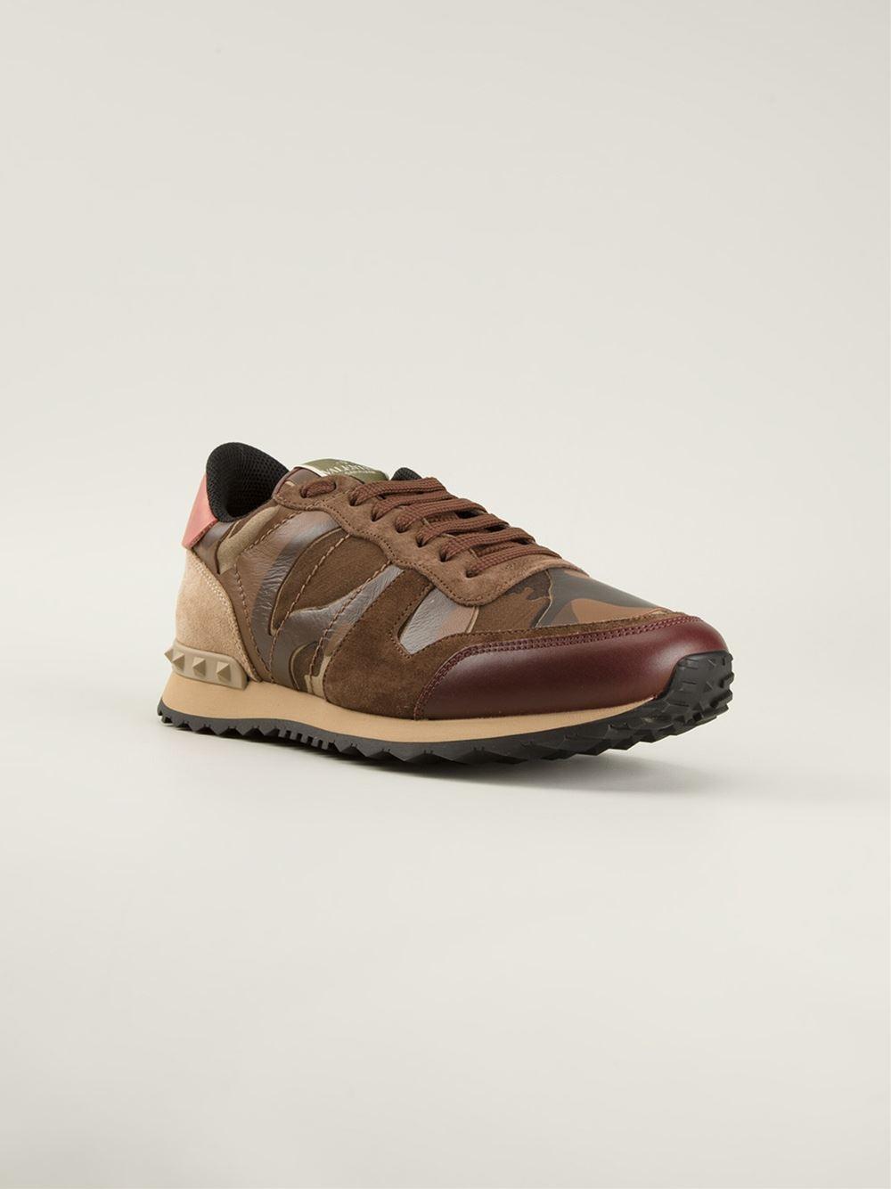 Valentino Garavani Rockrunner sneakers - Brown Valentino YhXImobq