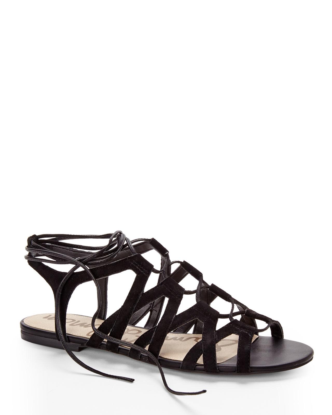 a4528a6a65c3a Lyst - Sam Edelman Black Boyden Gladiator Sandals in Black