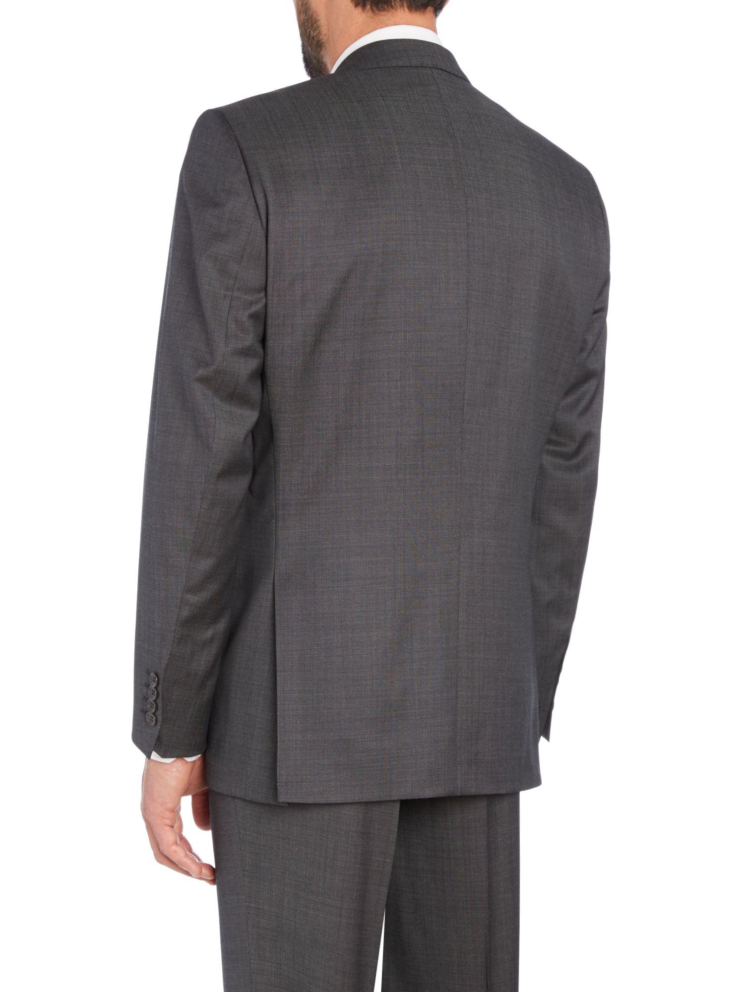 Carl Gross Suit Jacket In Gray For Men Lyst