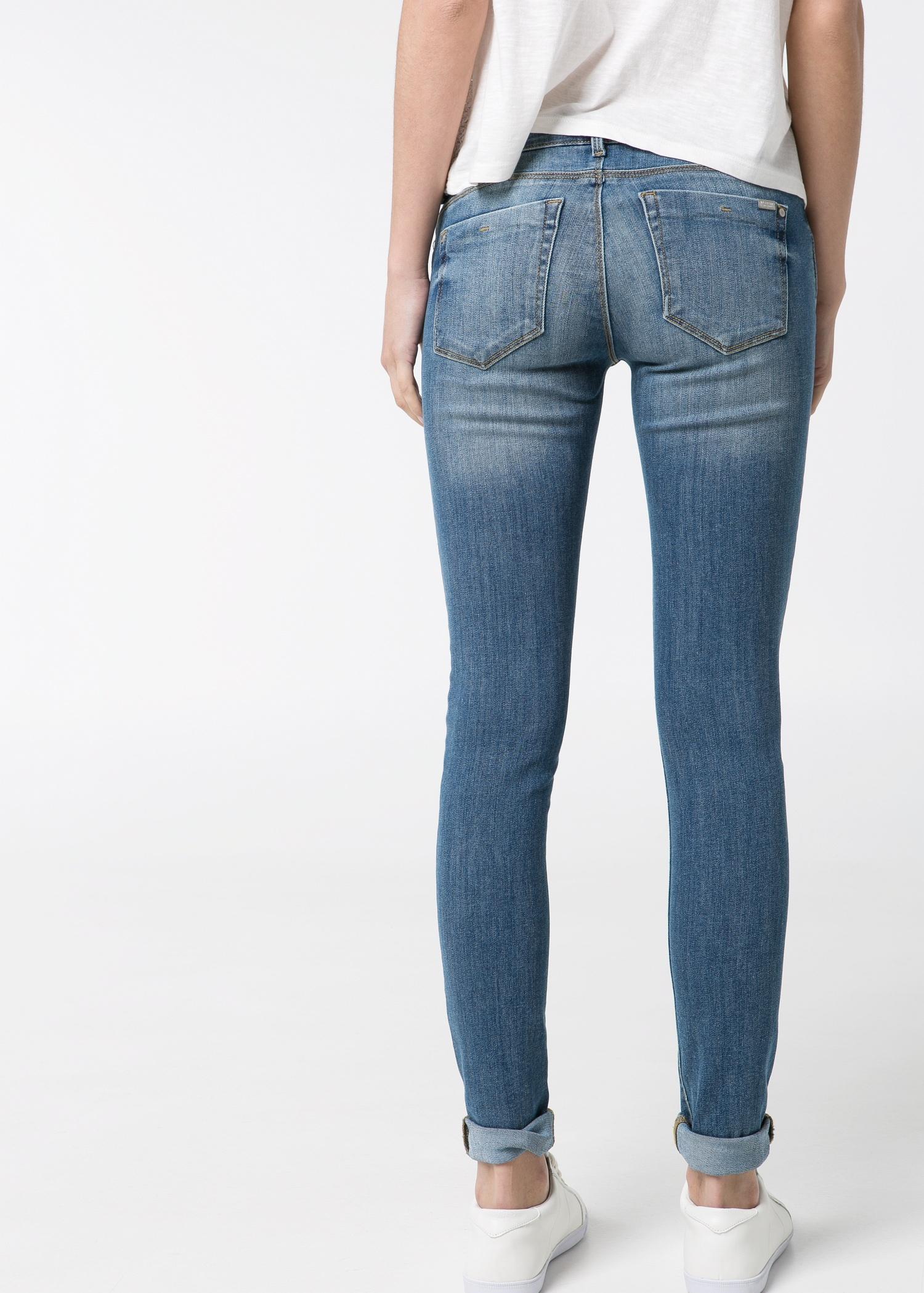Mango Skinny Olivia Jeans in Blue