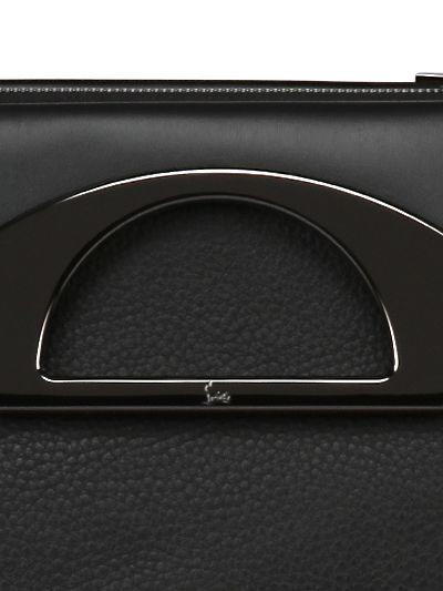 0fff8ec79e852 Christian Louboutin Passage Messenger Calf Shoulder Bag in Black for ...