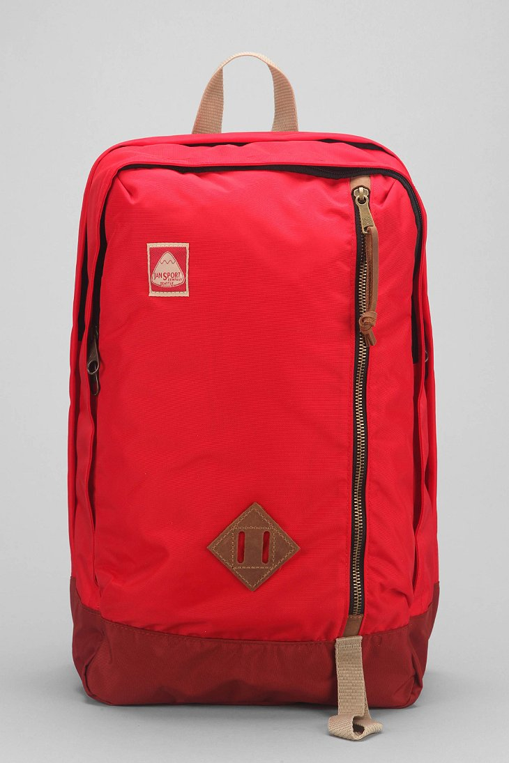Jansport Jayhawk Backpack in Red for Men | Lyst