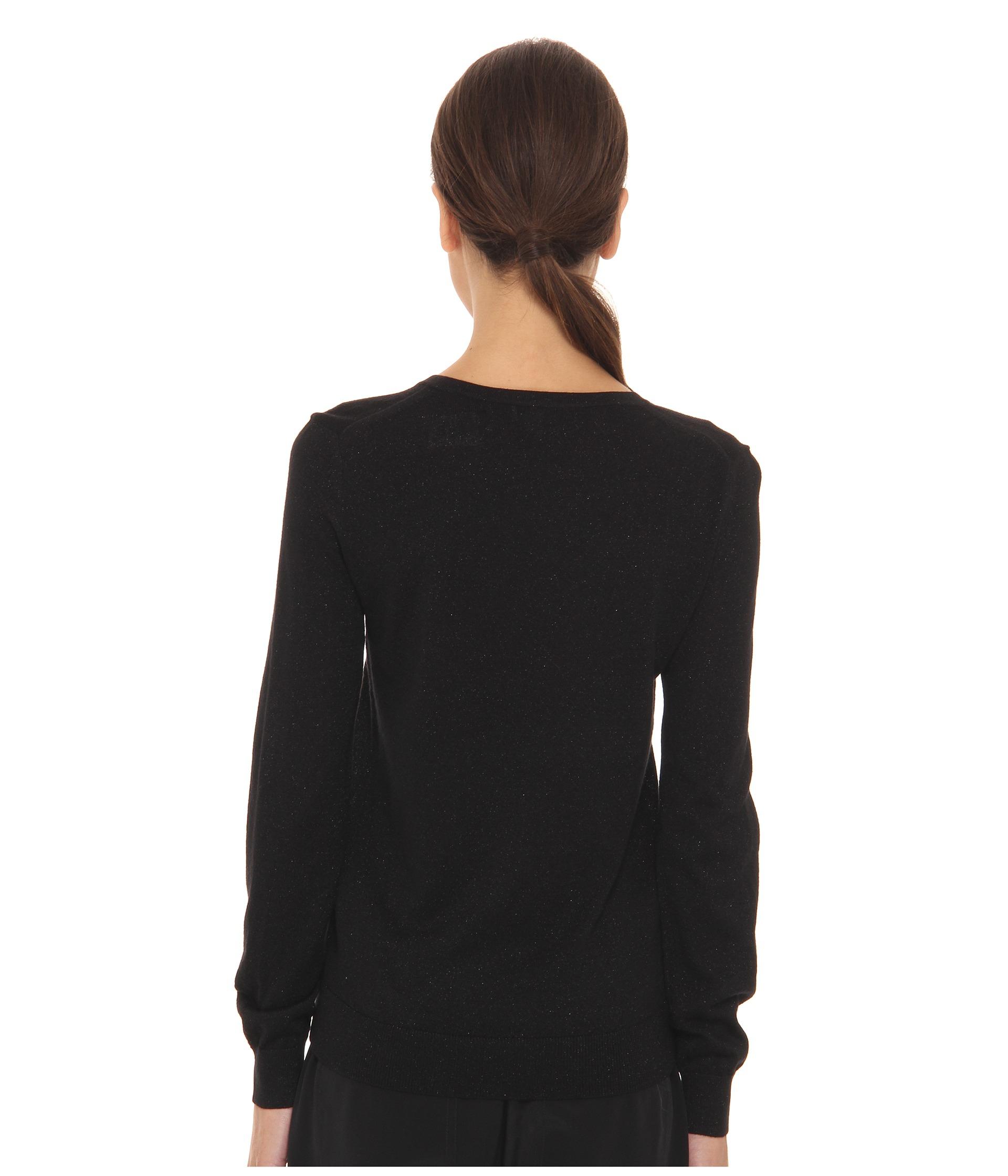 marc by marc jacobs betty birdie sweater in black black multi lyst. Black Bedroom Furniture Sets. Home Design Ideas