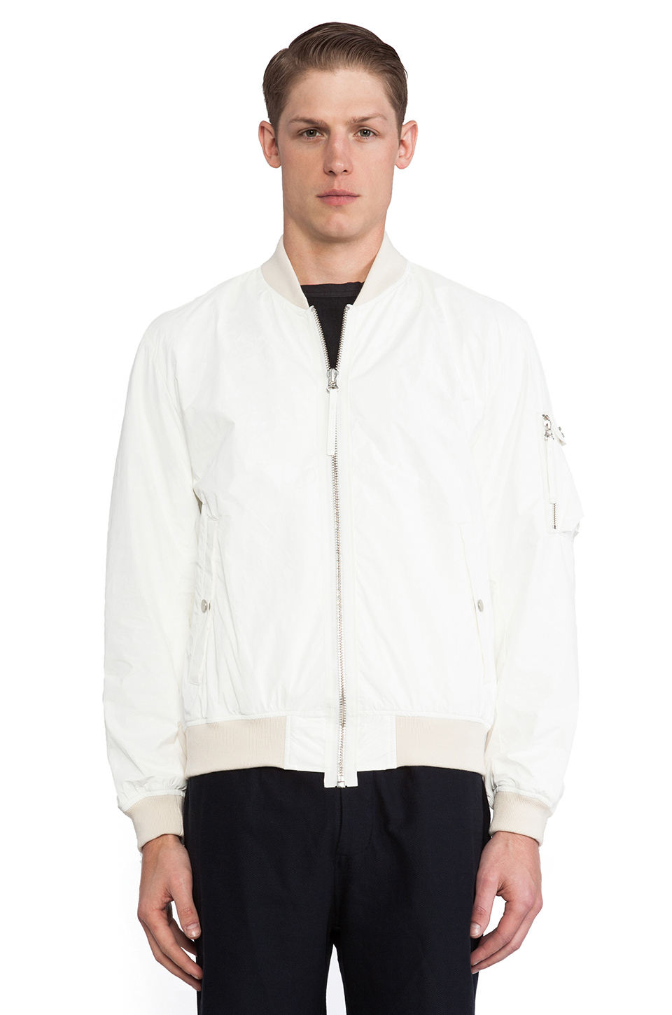 Bomber Jacket White