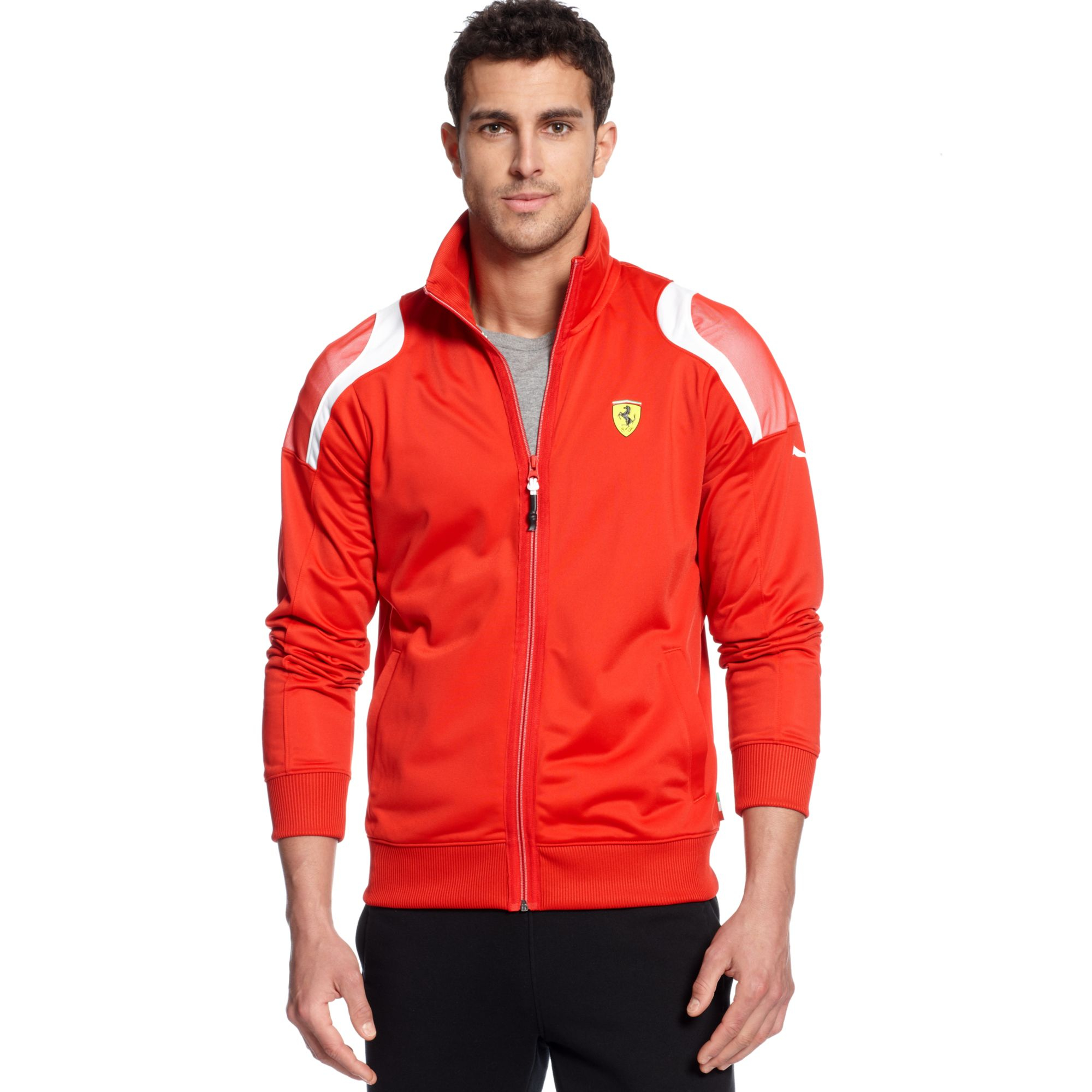 s jacket formula rain men red scuderia mens ferrari products team