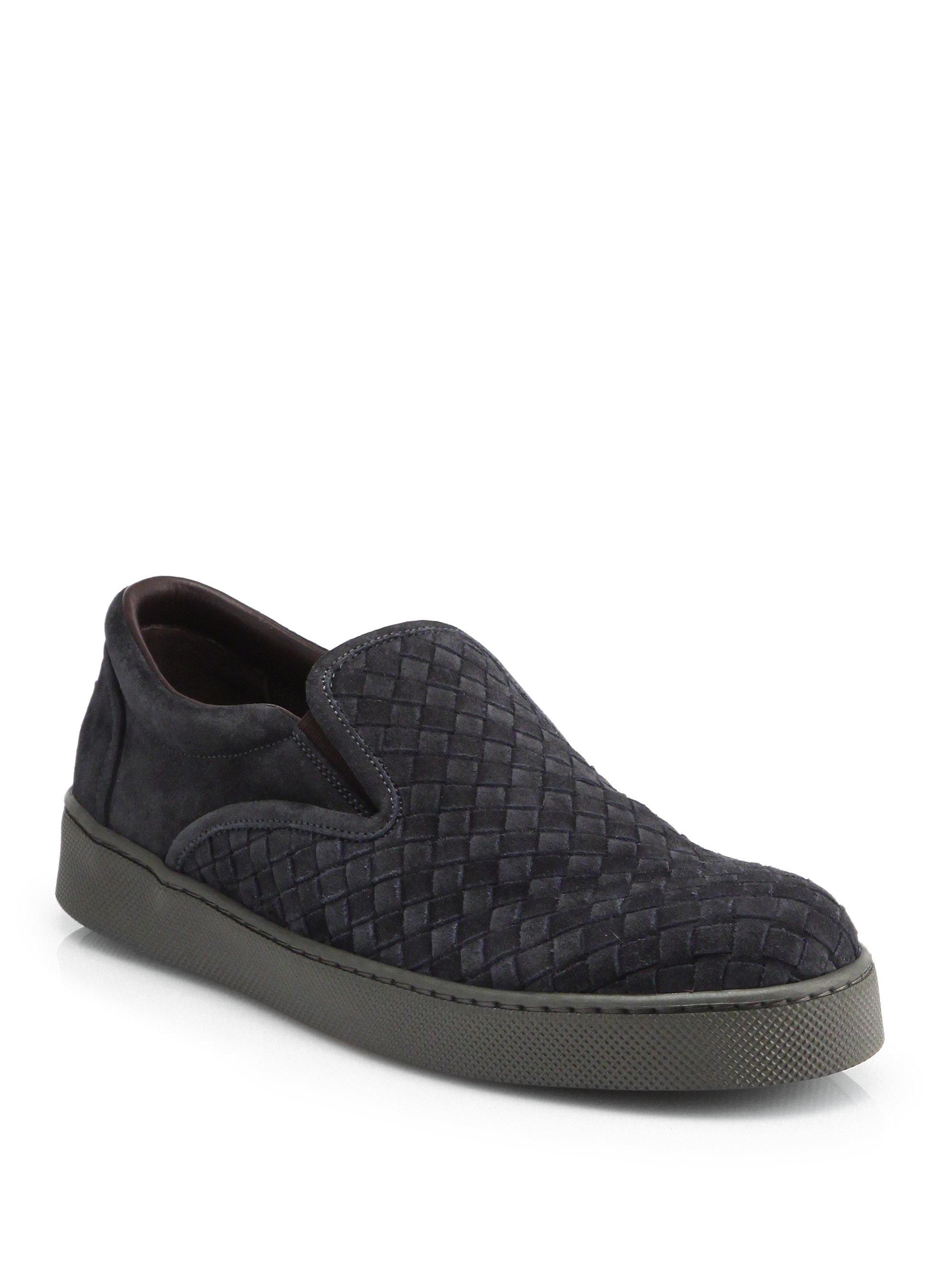 Bottega Veneta Black Classic Intrecciato Sneakers NtBDvyoE1