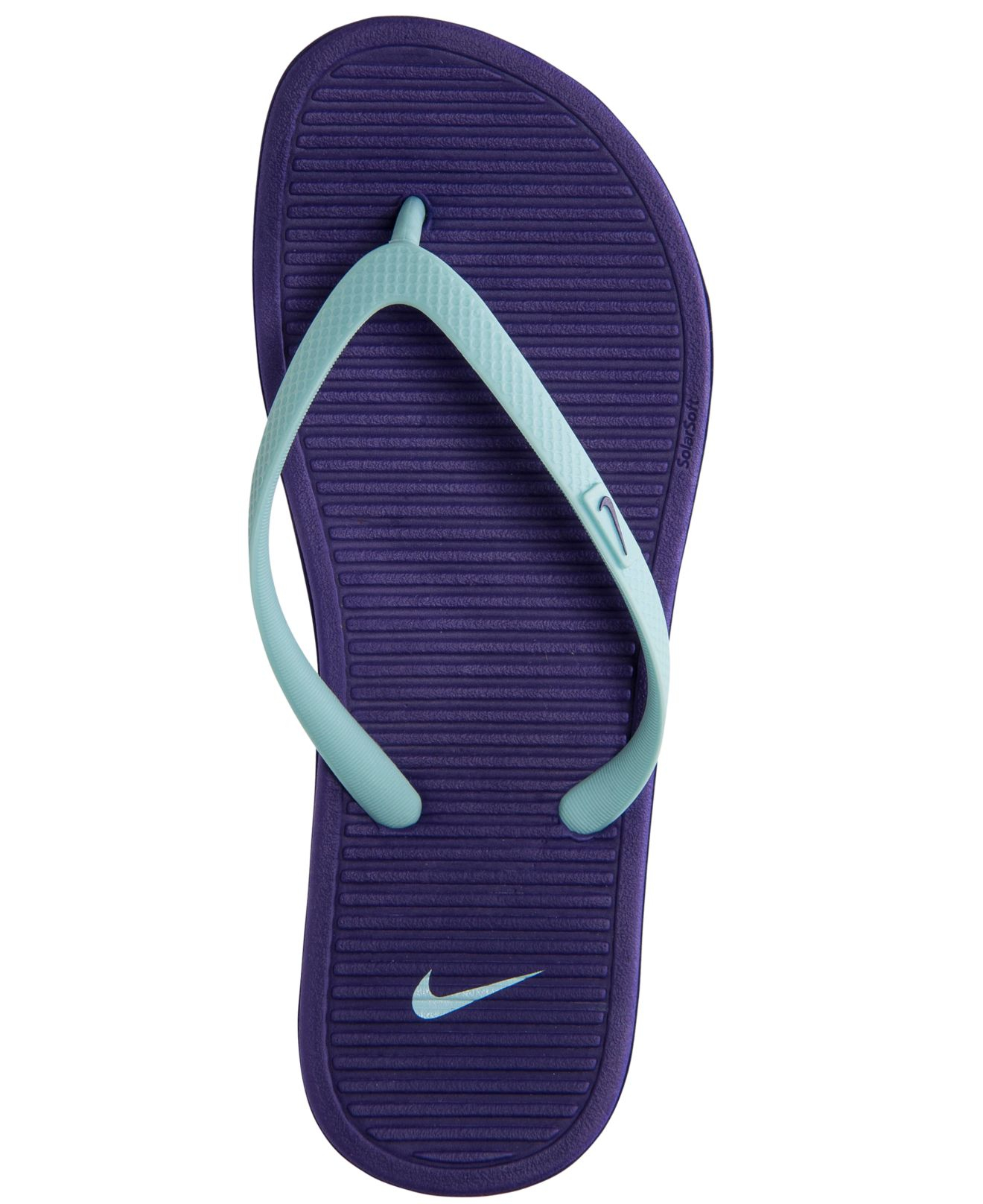 Lyst - Nike Women S Solarsoft Thong Ii Sandals From Finish Line in ... efabada0c