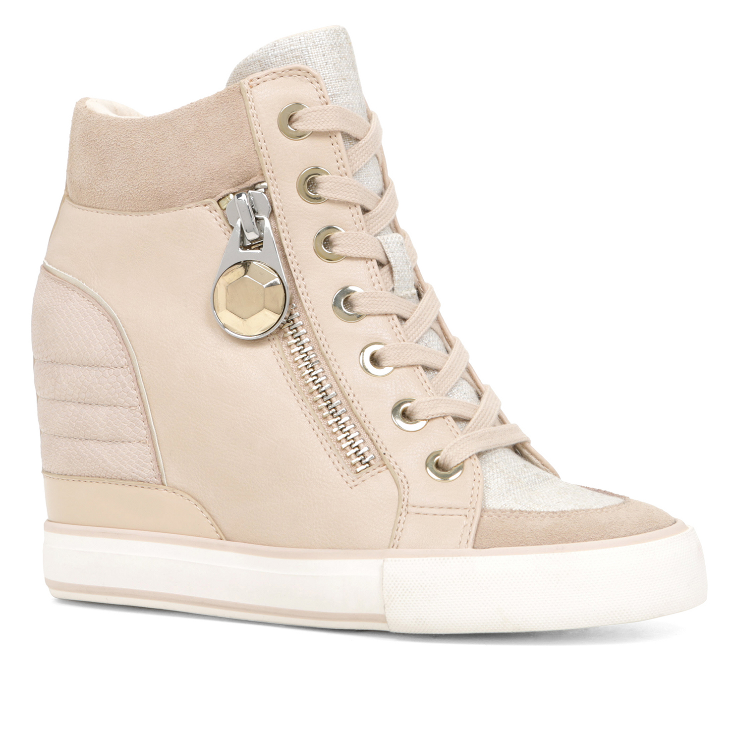 Aldo Synthetic Aalessa In Bone Natural Lyst